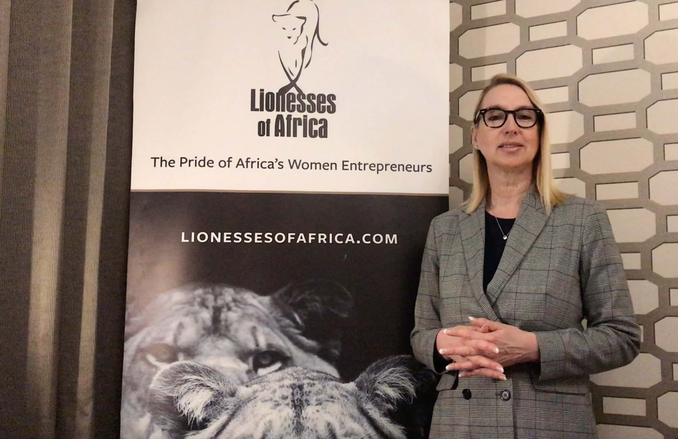 Melanie Hawken, founder & CEO of Lionesses of Africa