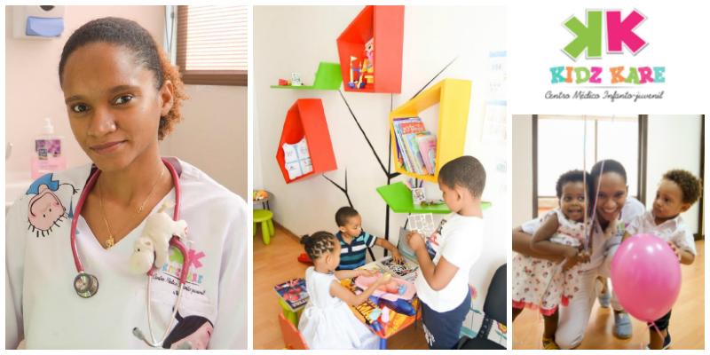 Annette Cassy , founder of  Kidz Kare Centro Médico Infanto-Juvenil  (Mozambique)