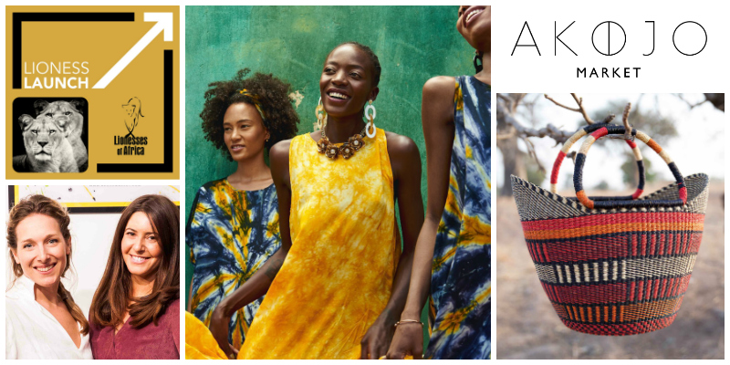 Natasha Buchler and Annie Rudnick, co-founders  Akojo Market  (UK)