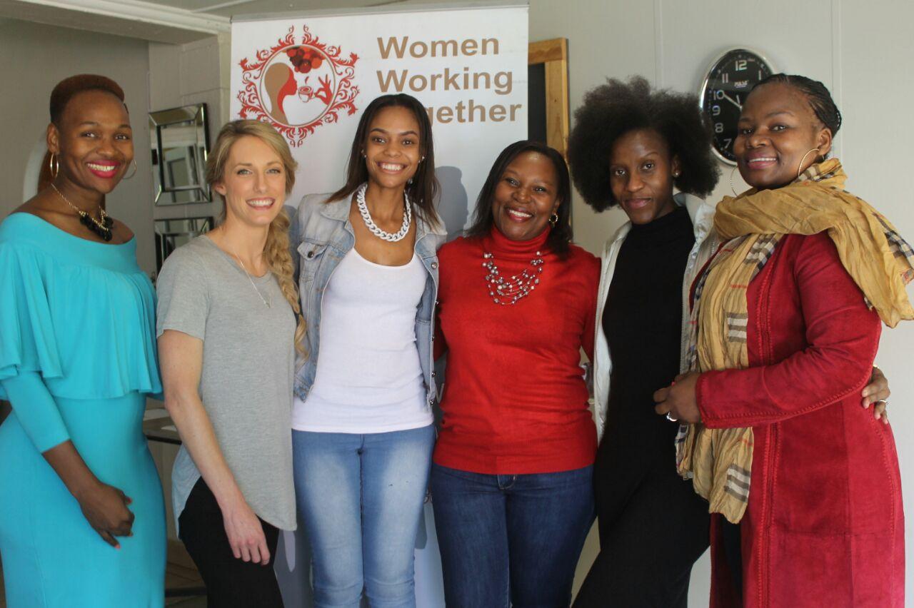 Zanele with some partners from WWT.JPG