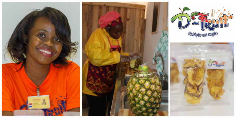 Dirce Abdala, founder of D-Fruit (Mozambique)