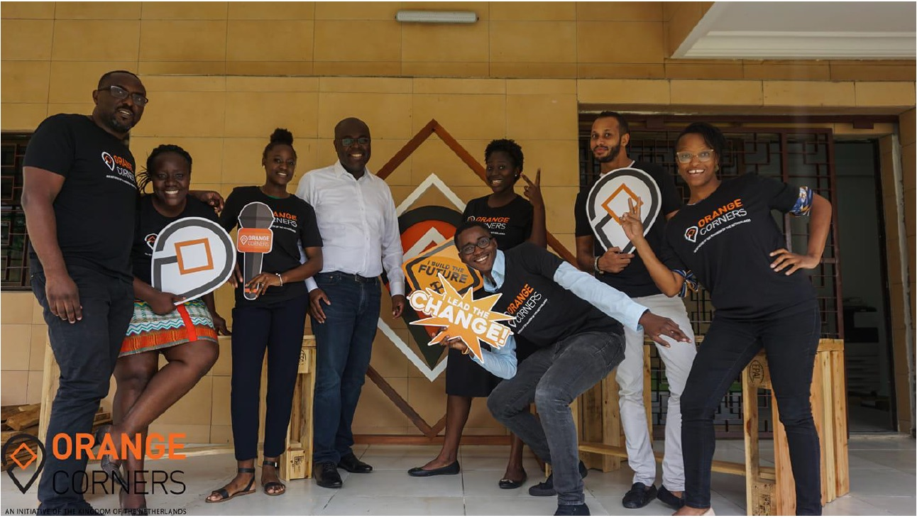 OC Côte d'Ivoire - 'An incubator for young innovative entrepreneurs' — Supported by the Kingdom of the Netherlands.