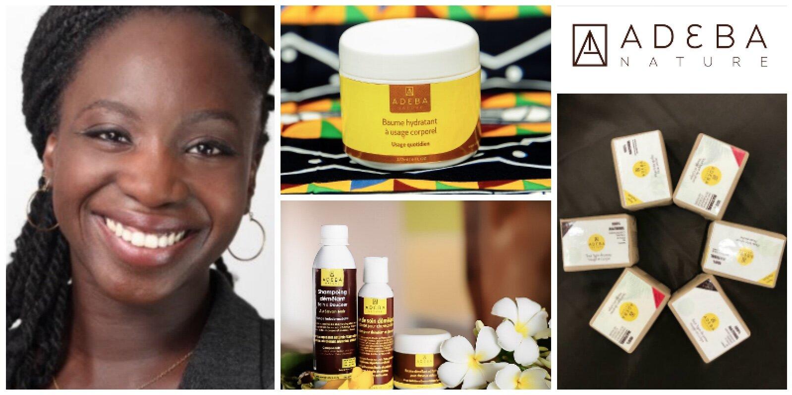 Linda Dempah, founder of  Adeba Nature  (Cote d'Ivoire)