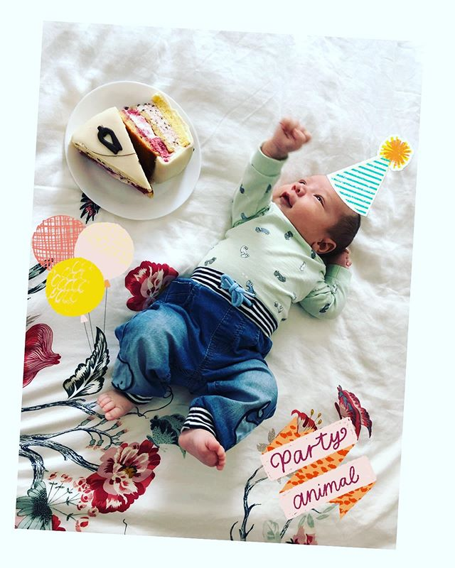 Someone just turned one month old! My beautiful baby boy is getting bigger each day! I love you so much!!! 💕🎂🎉💕 . . . . . #babyboy #onemonthold #1monthold #happybirthday #joy #baby #happiness #child #boy #babygutt #mesversario #menino #bebe
