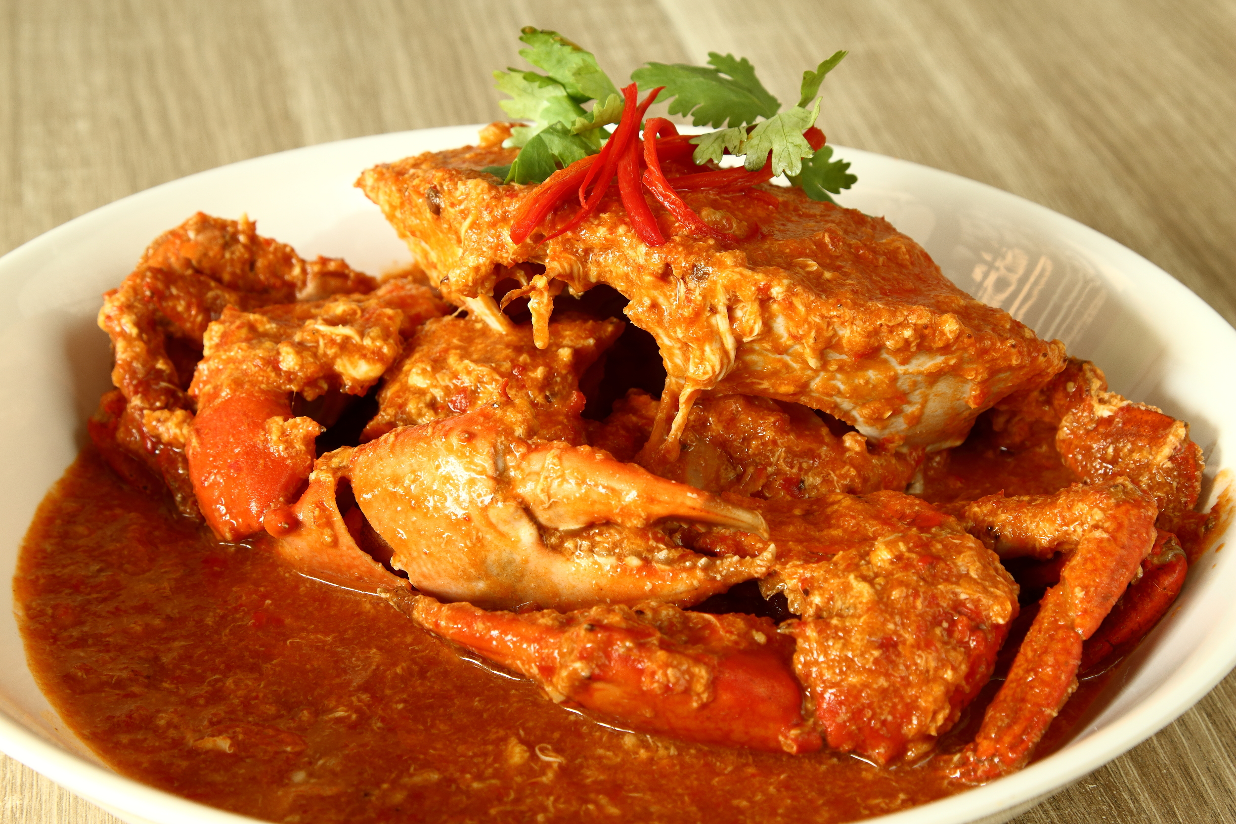 Momma Kong's Red Chilli Crab