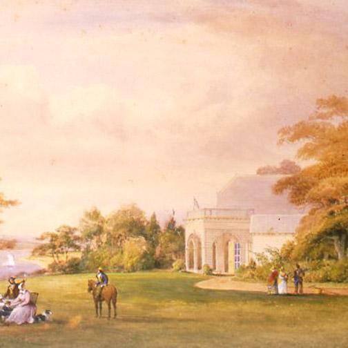 The Cottage circa 1820