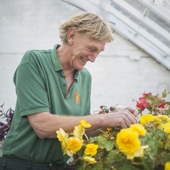 Peter Chadwick - Head Gardener