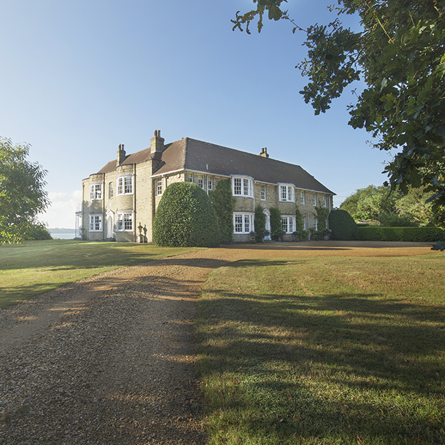 Present day Cadland House
