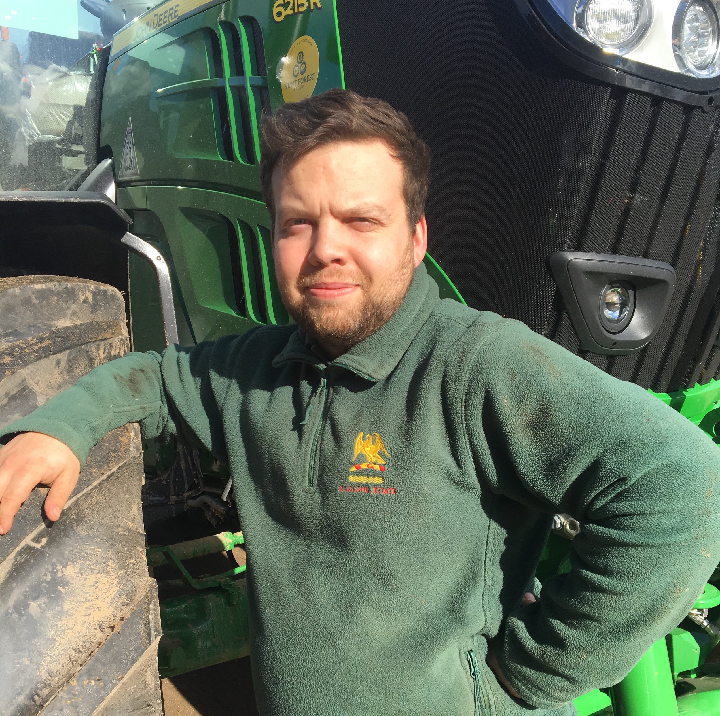 dan fellows - tractor driver