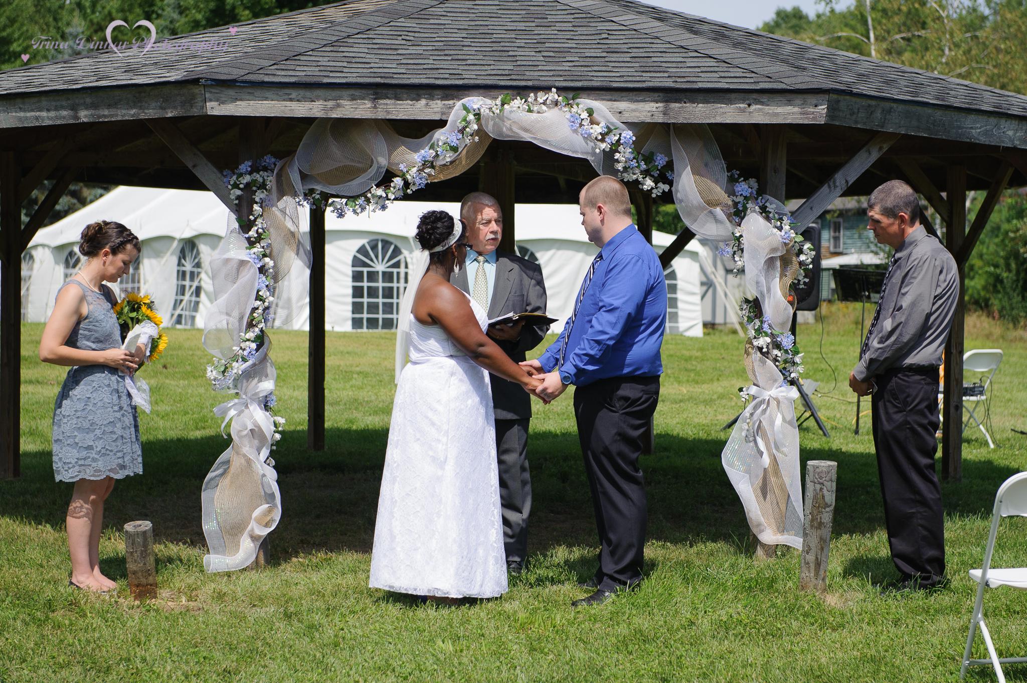 couple saying their vows