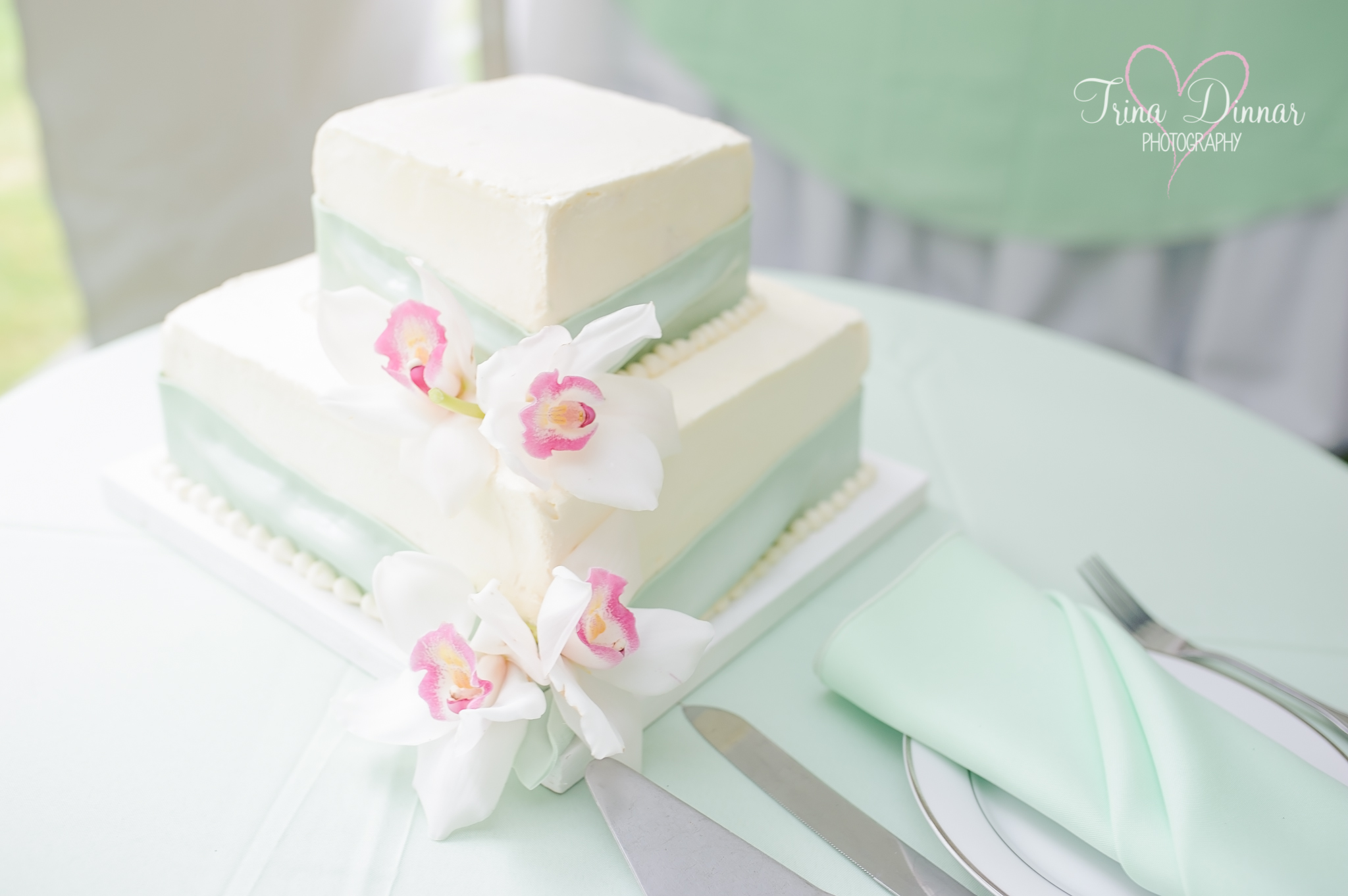 Wedding cake from Plum Cove Grind in Gloucester, MA