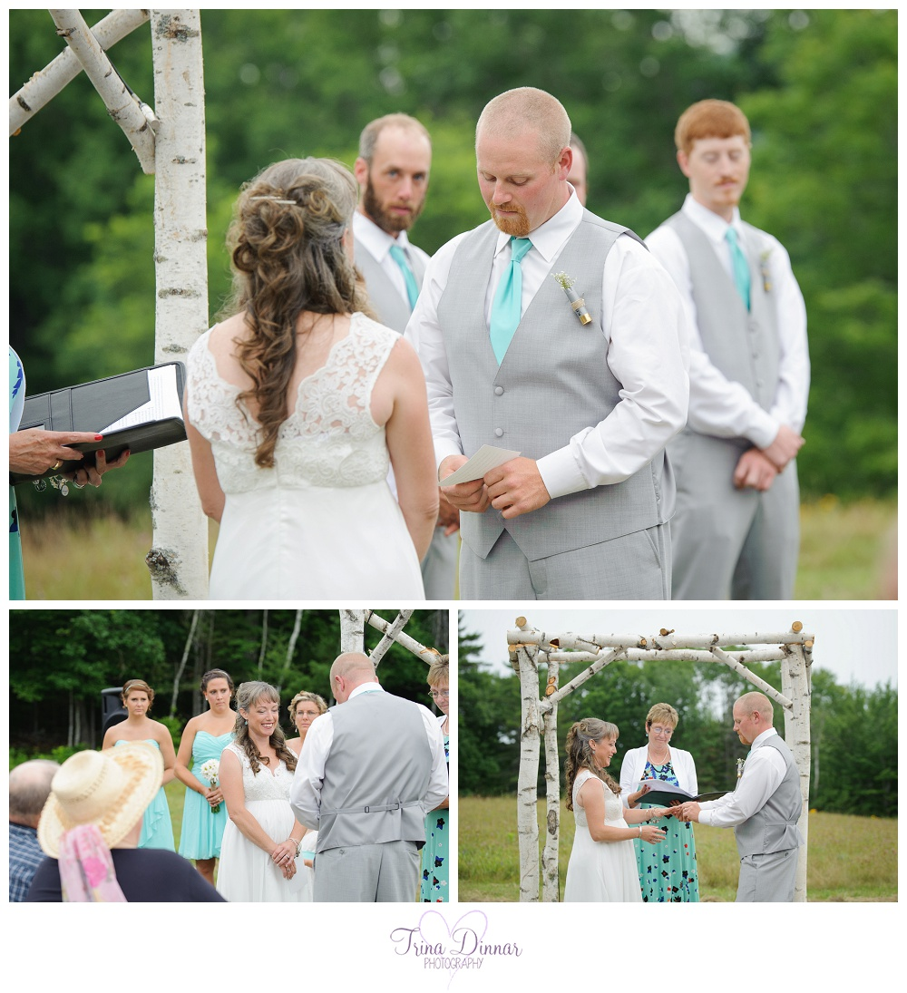 Images I photographed of the wedding ceremony.