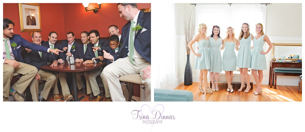 Coastal Maine wedding at the Nonantum