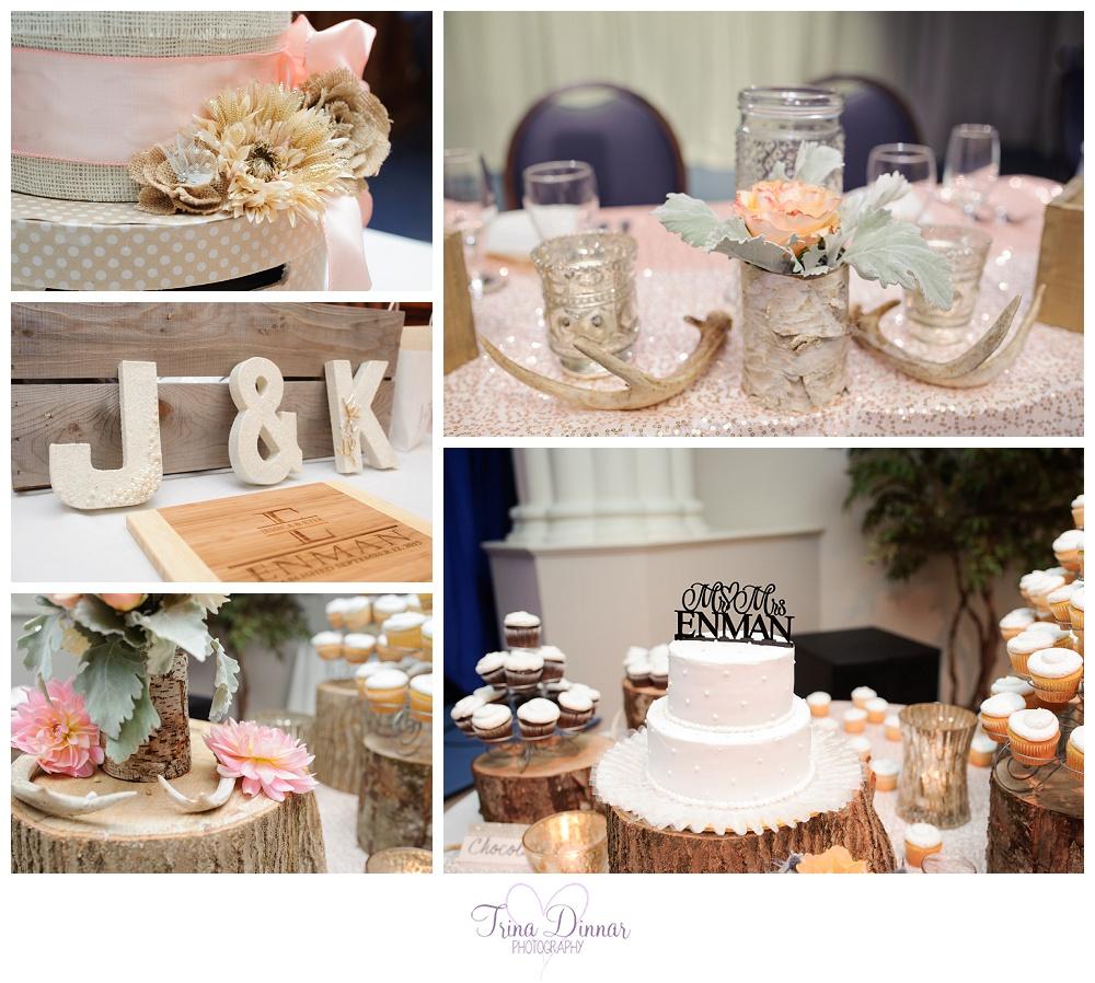 Maine Wedding Reception Decor