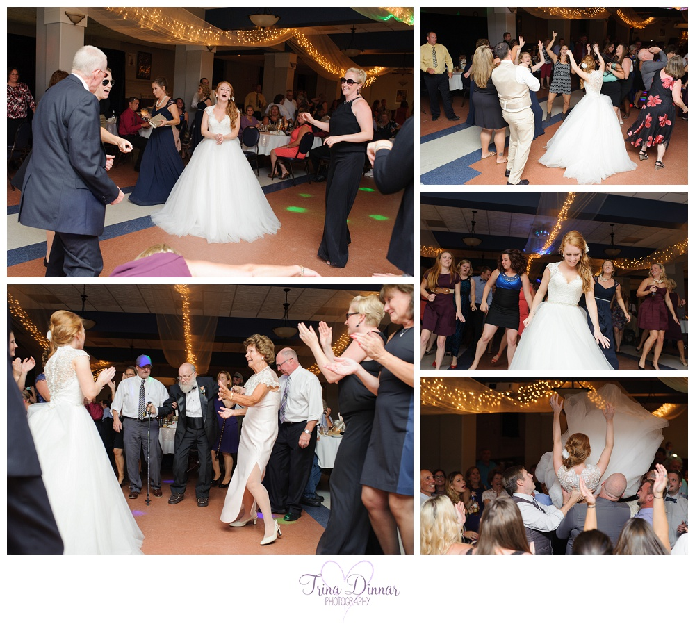 Franco American Heritage Center Wedding Reception