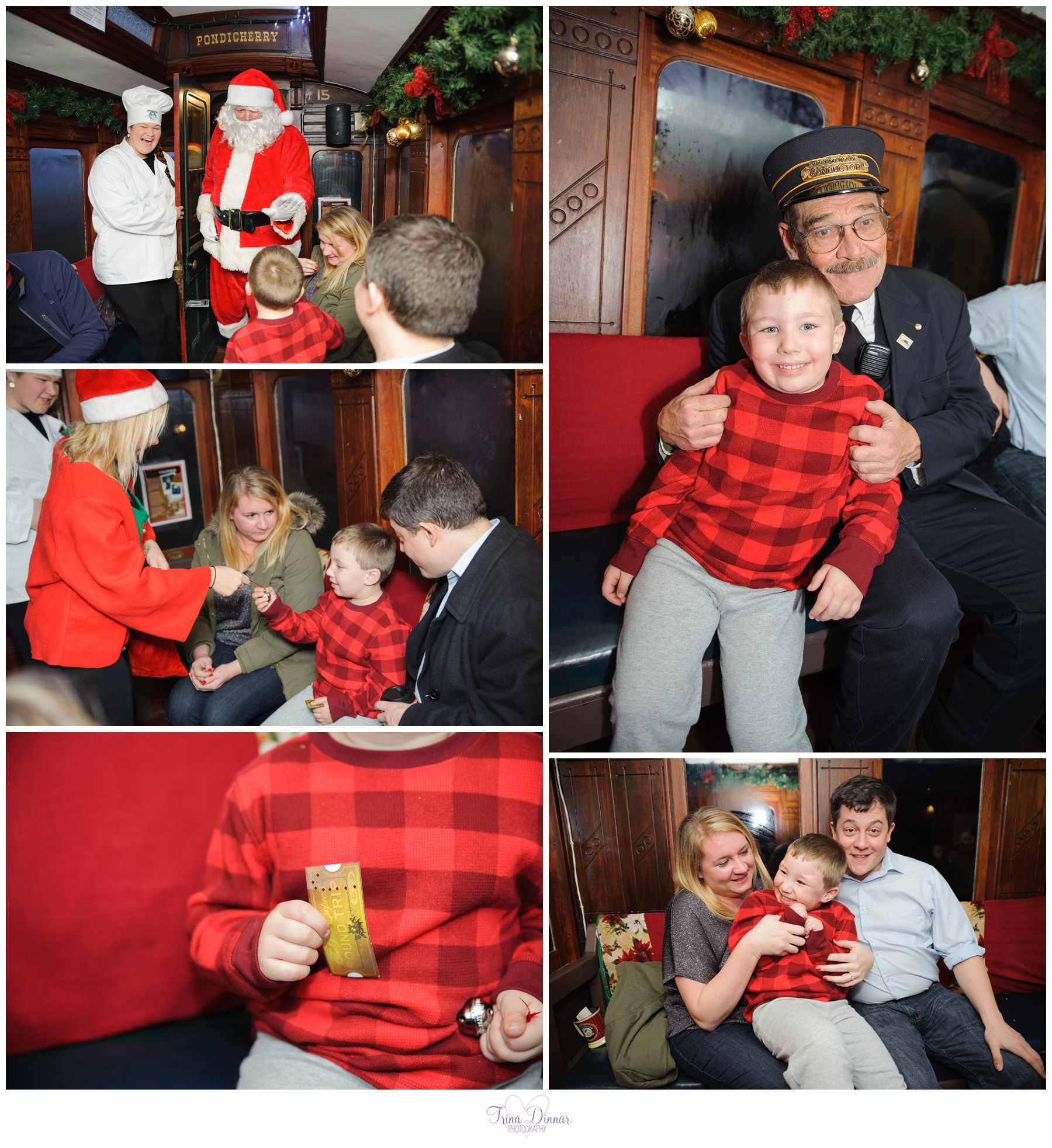 Christmas Polar Express Ride in Portland, Maine