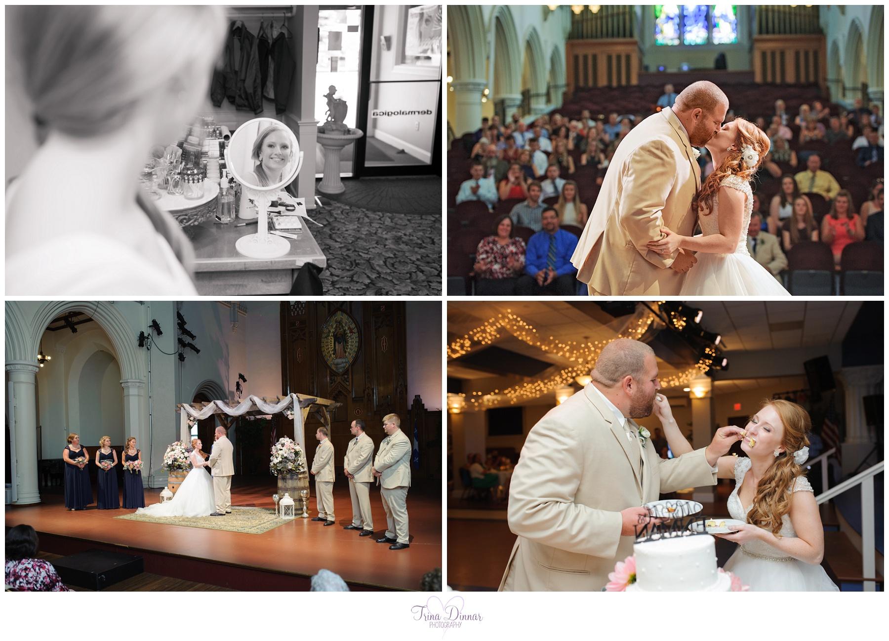 Franco American Heritage Center Wedding Photographer