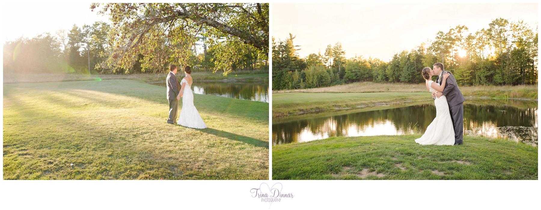 Wedding Photographer at William Allen Farm in Pownal, Maine