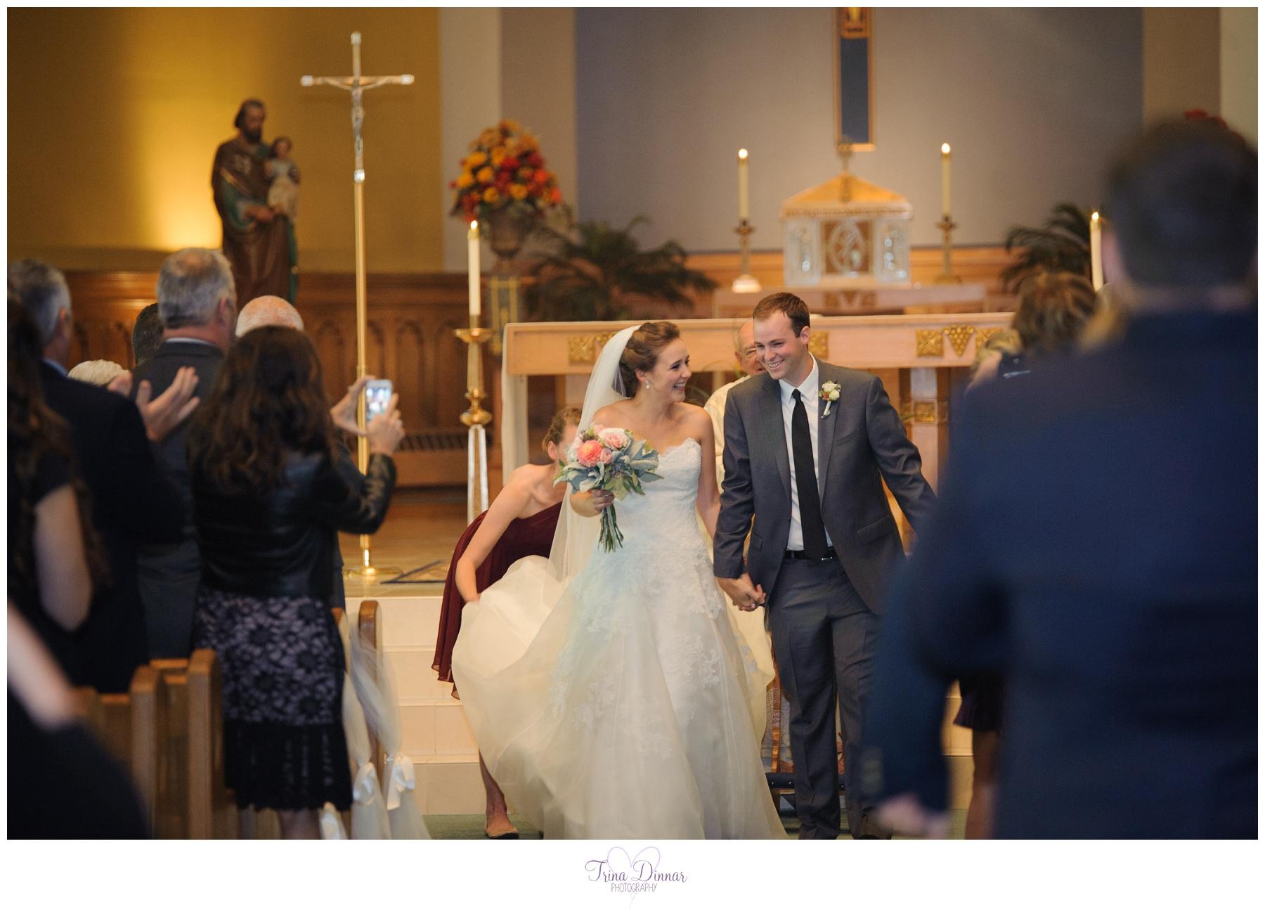 Weddings at St. Joseph's Church in Biddeford Maine