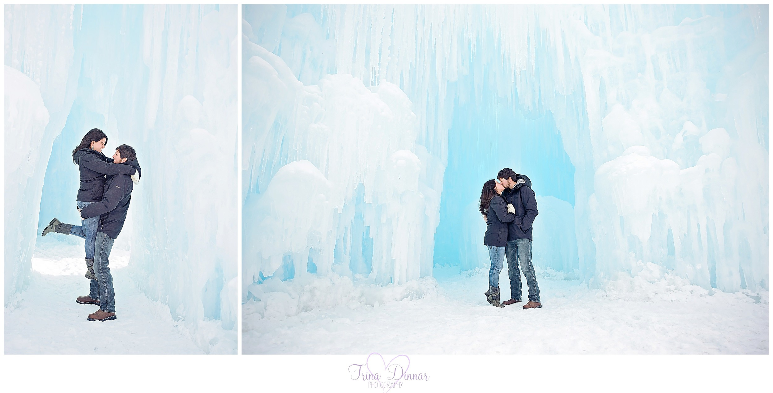 Maine Photographer travels to Ice Castles in Lincoln, New Hampshire.
