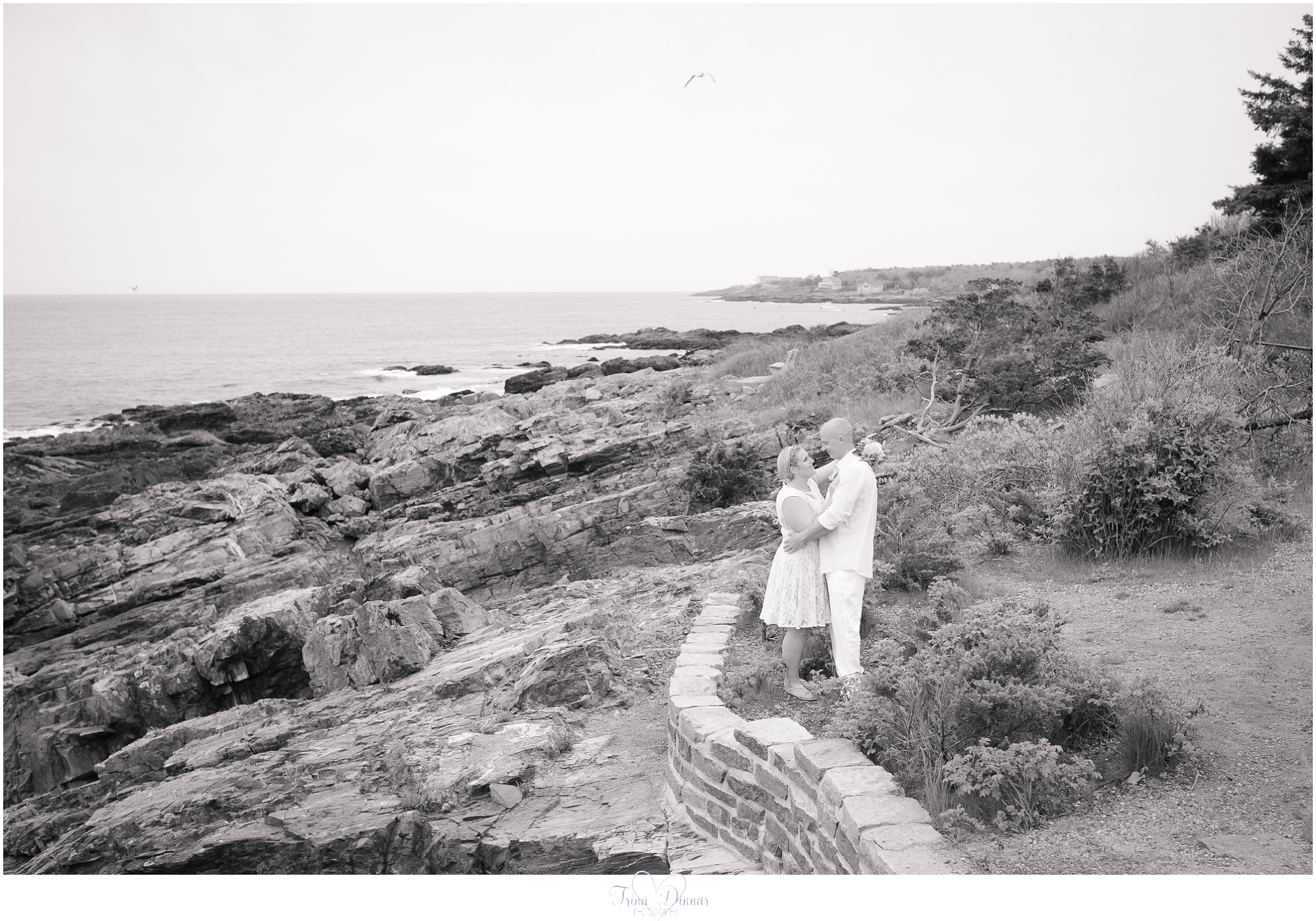 Marginal Way Ogunquit Maine Wedding photographed by Trina Dinnar Photography