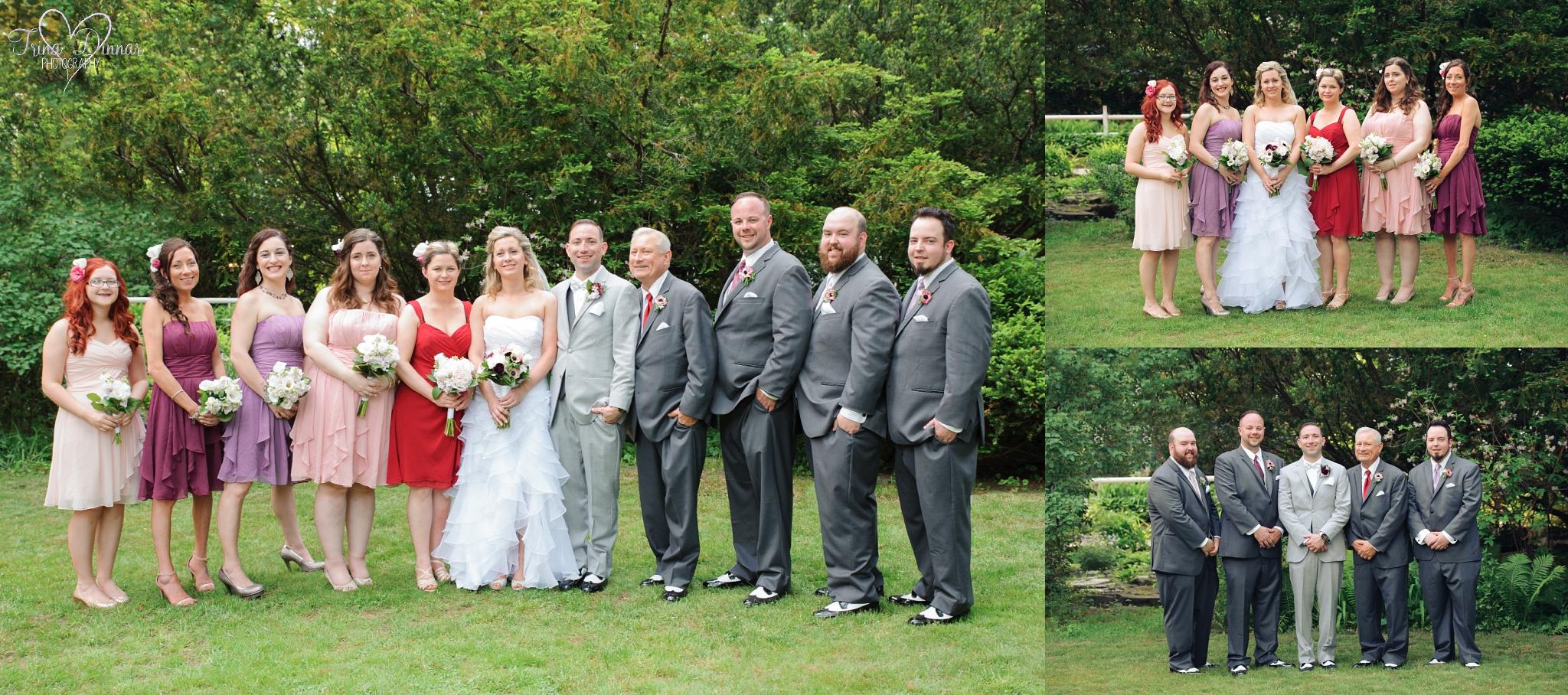 New Hampshire Wedding Bridal Party Photography