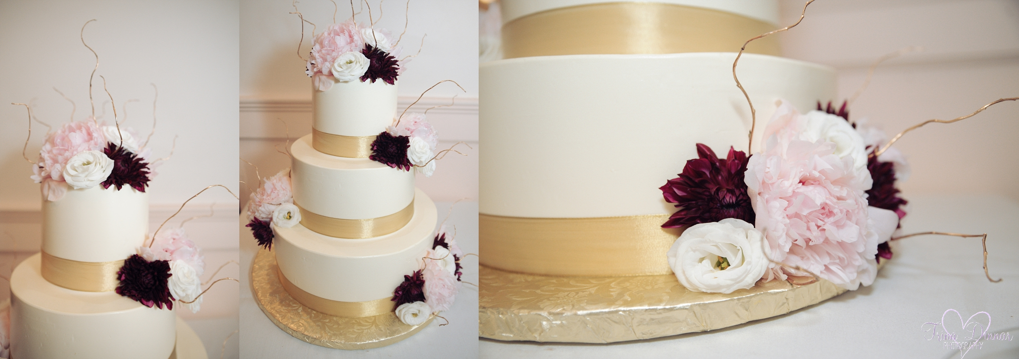 Jacques' Fine European Pastries New Hampshire Wedding Cake