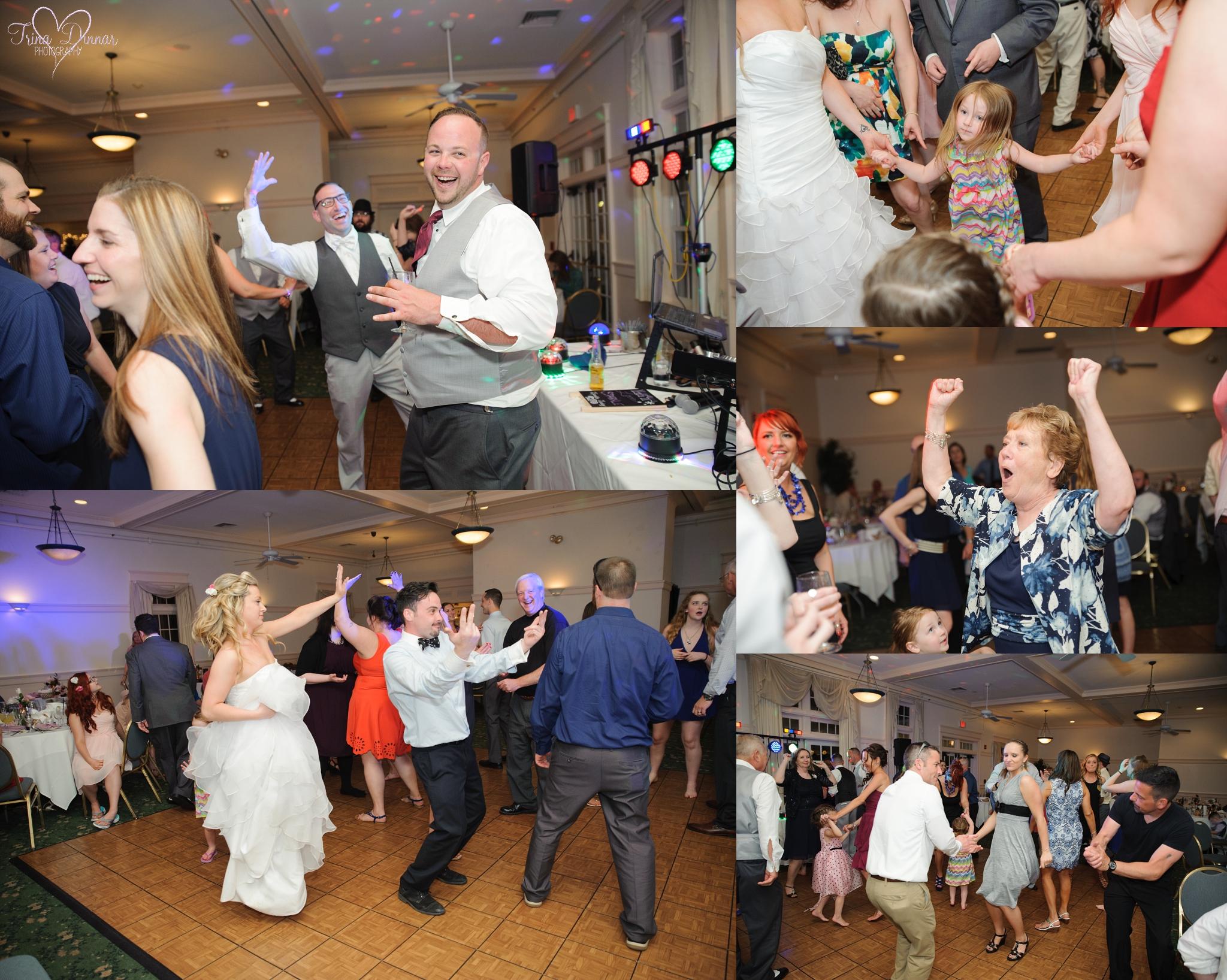 Governor's Inn Rochester wedding reception dancing