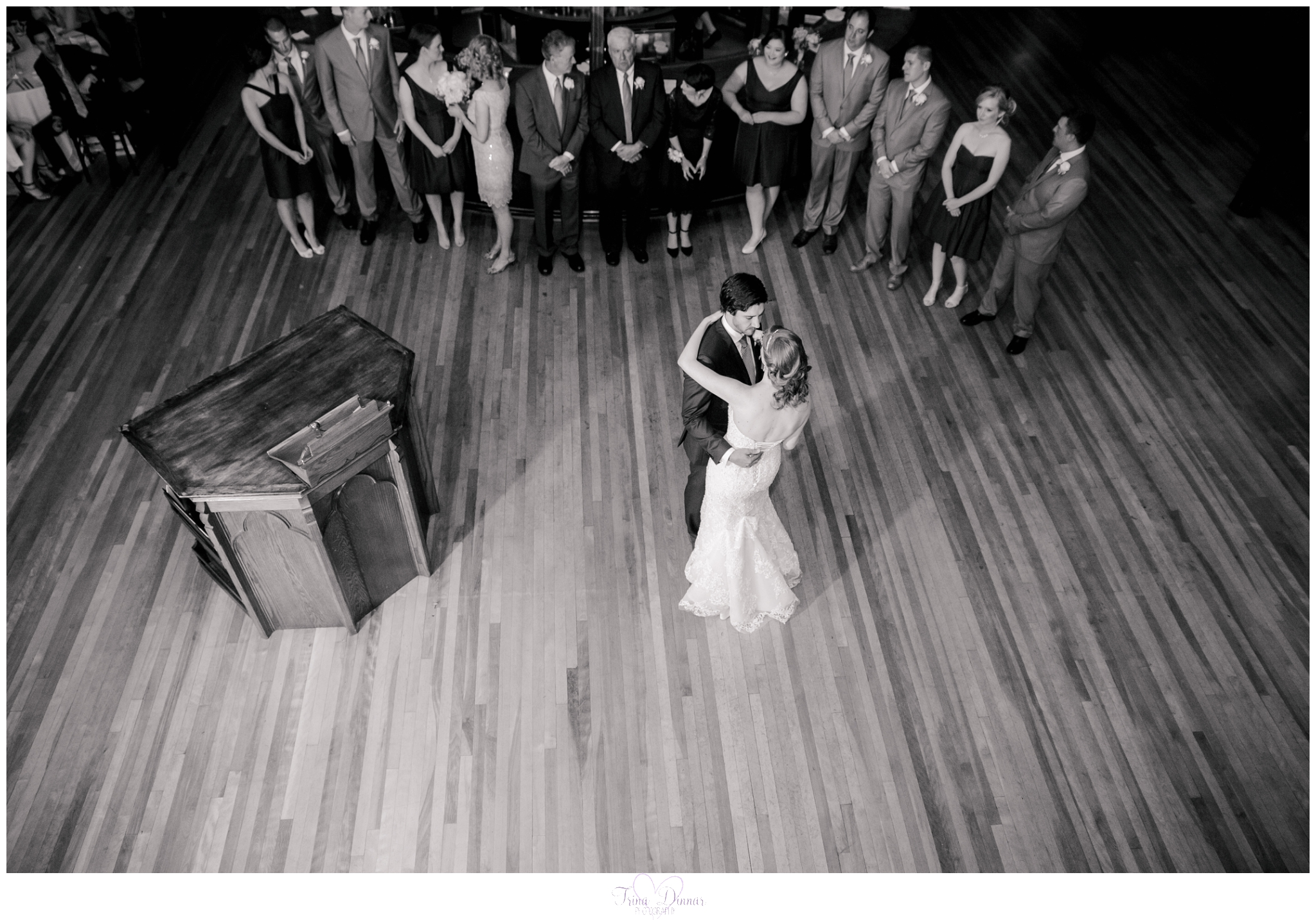 Grace Restaurant Portland Maine Wedding Photography by Trina Dinnar