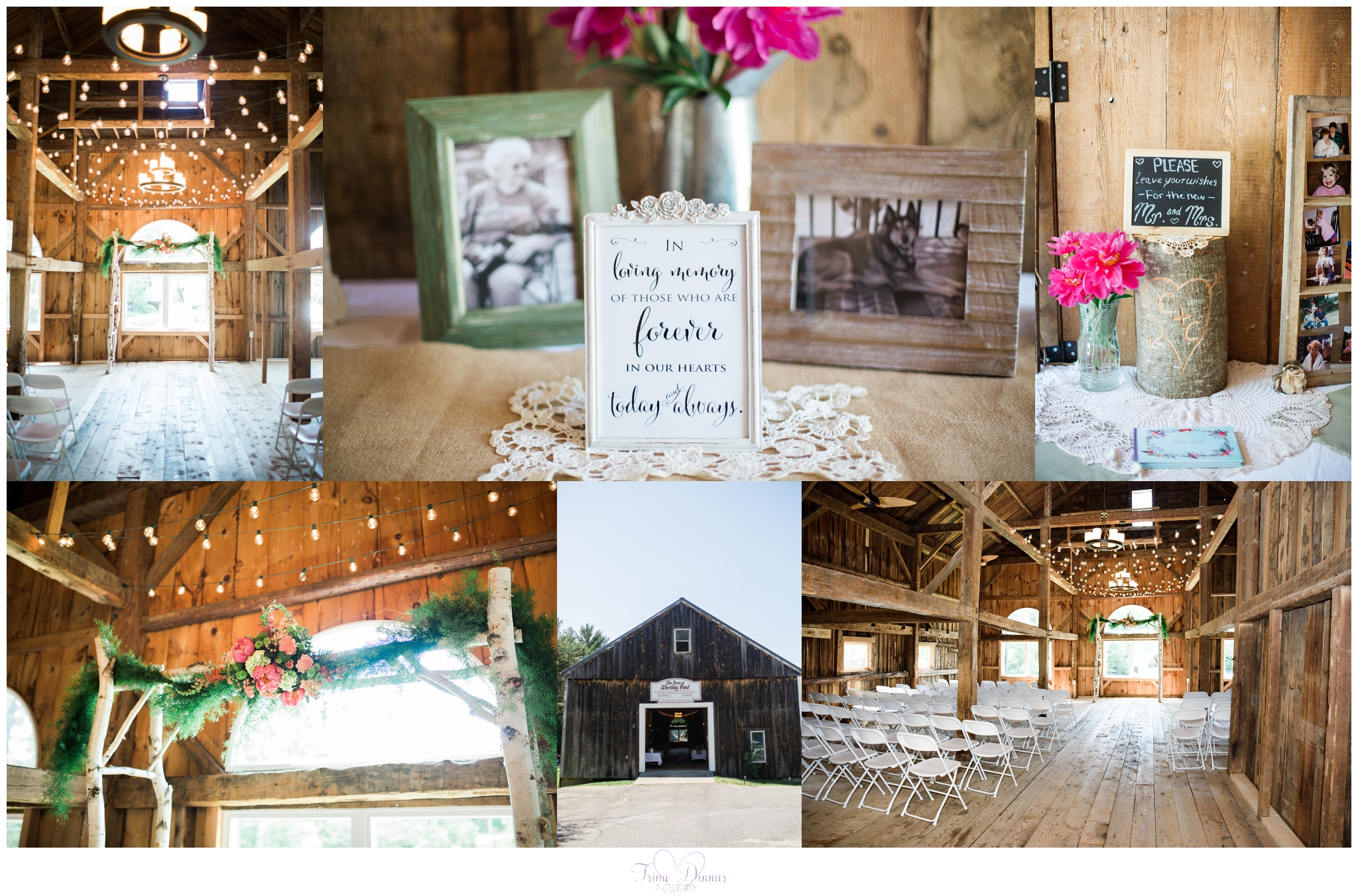 The Farm at Worthley Pond Wedding in Peru, Maine.