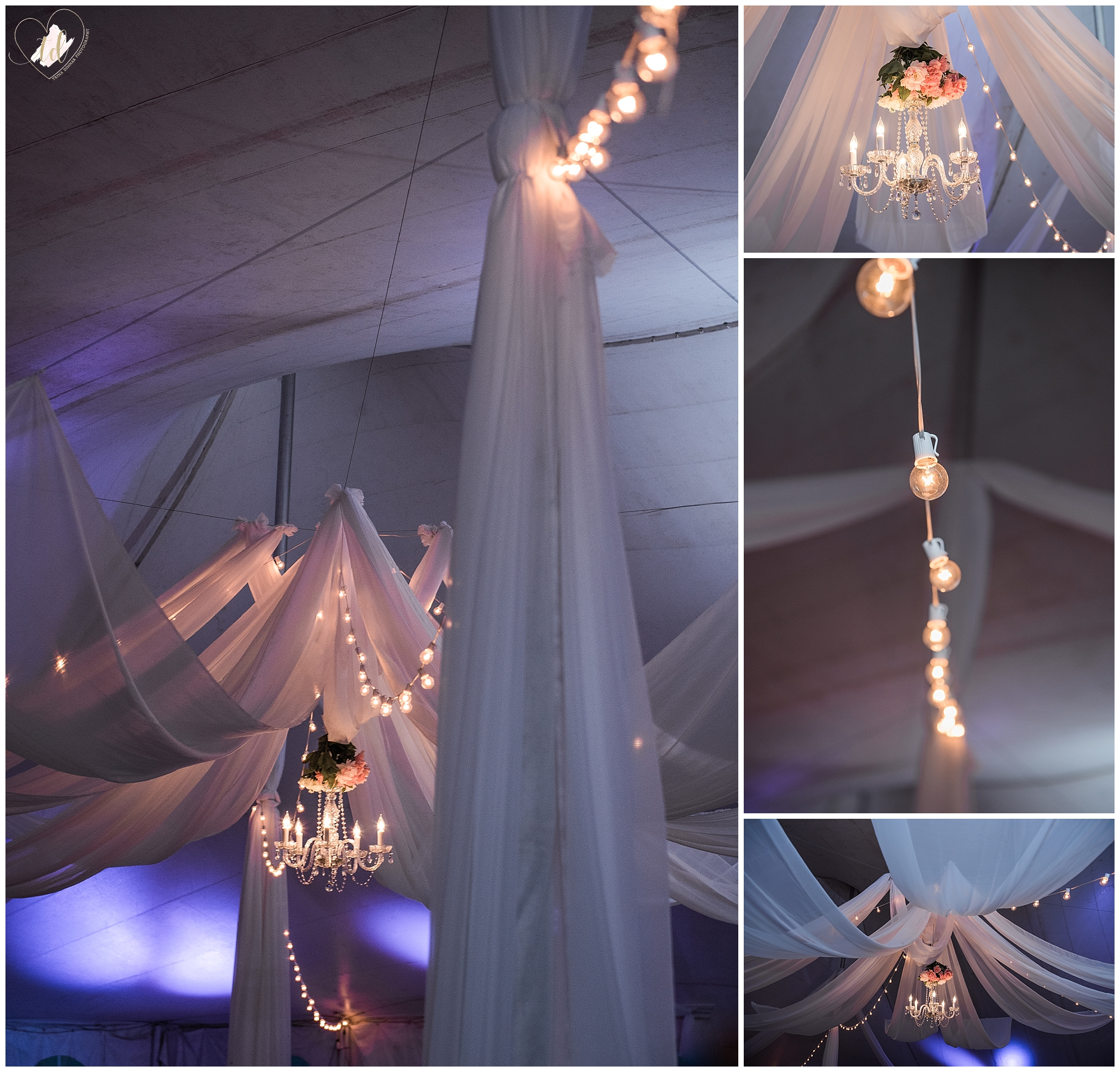 Maine Uplighting and Lighting Rental for Wedding Reception