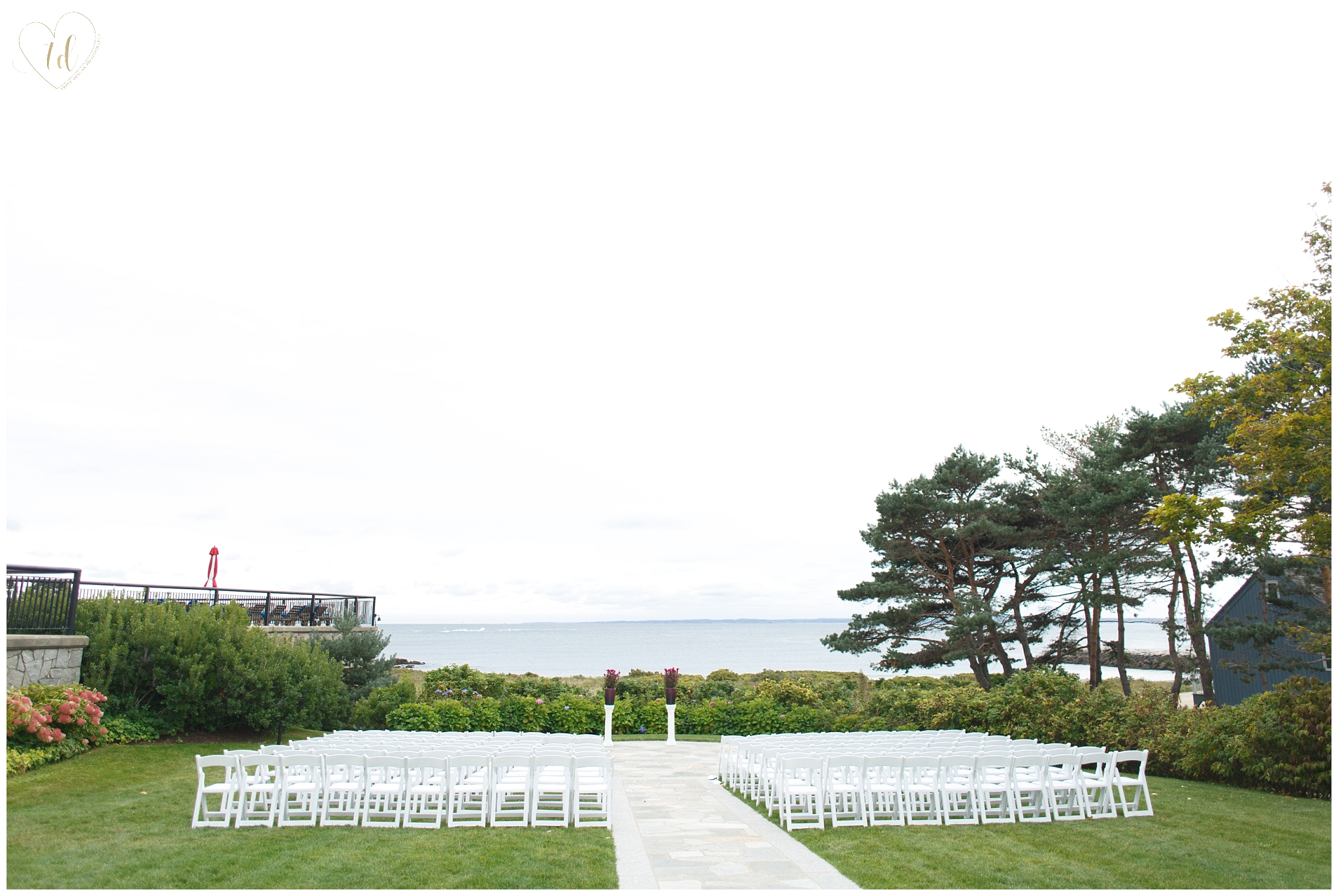 Maine Wedding Ceremony at the Colony Hotel