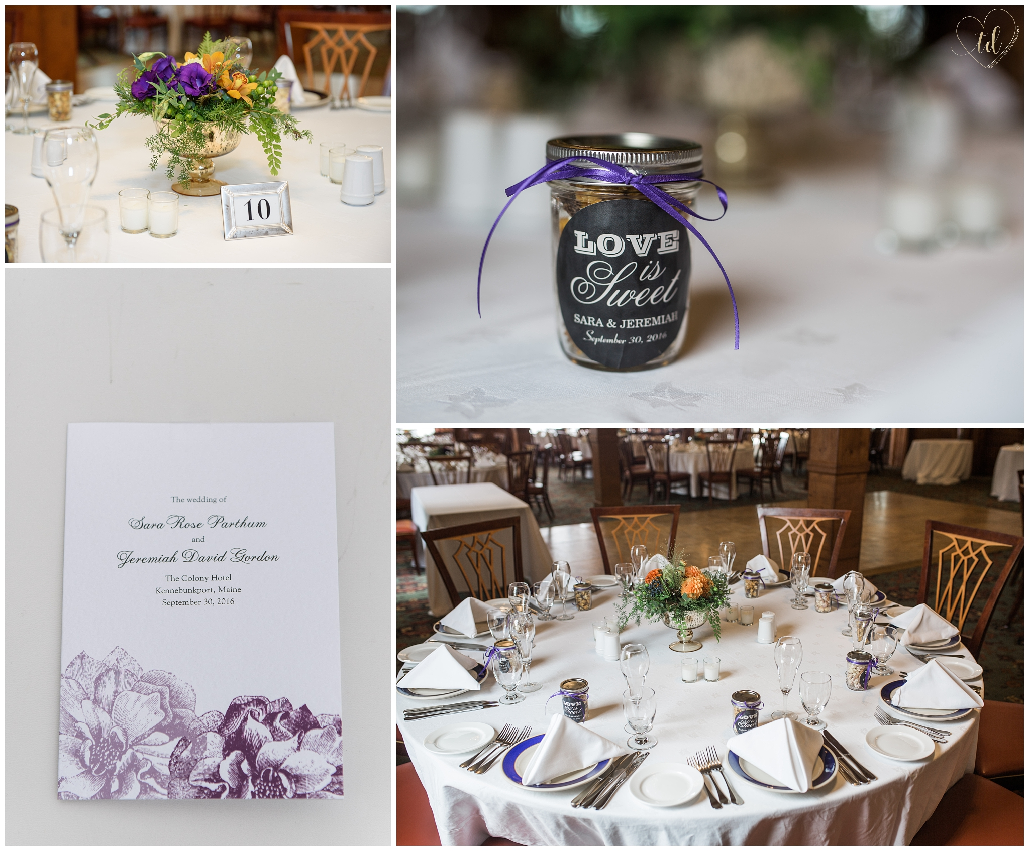 The Colony Hotel Wedding Reception