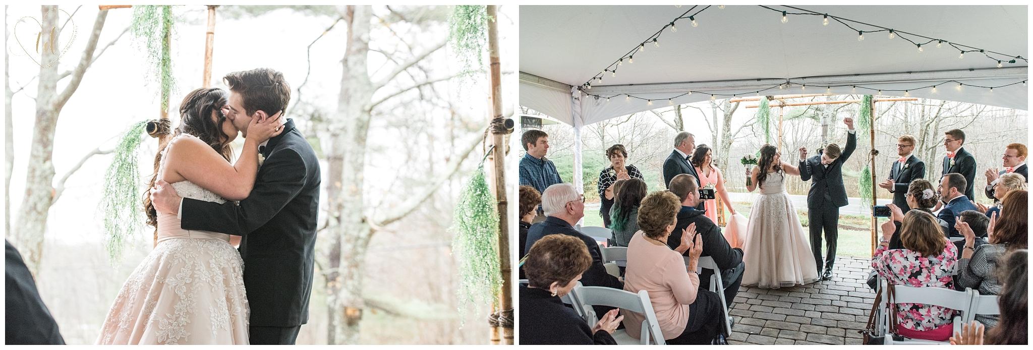 Ocean Woods Resort Outdoor Tented Wedding