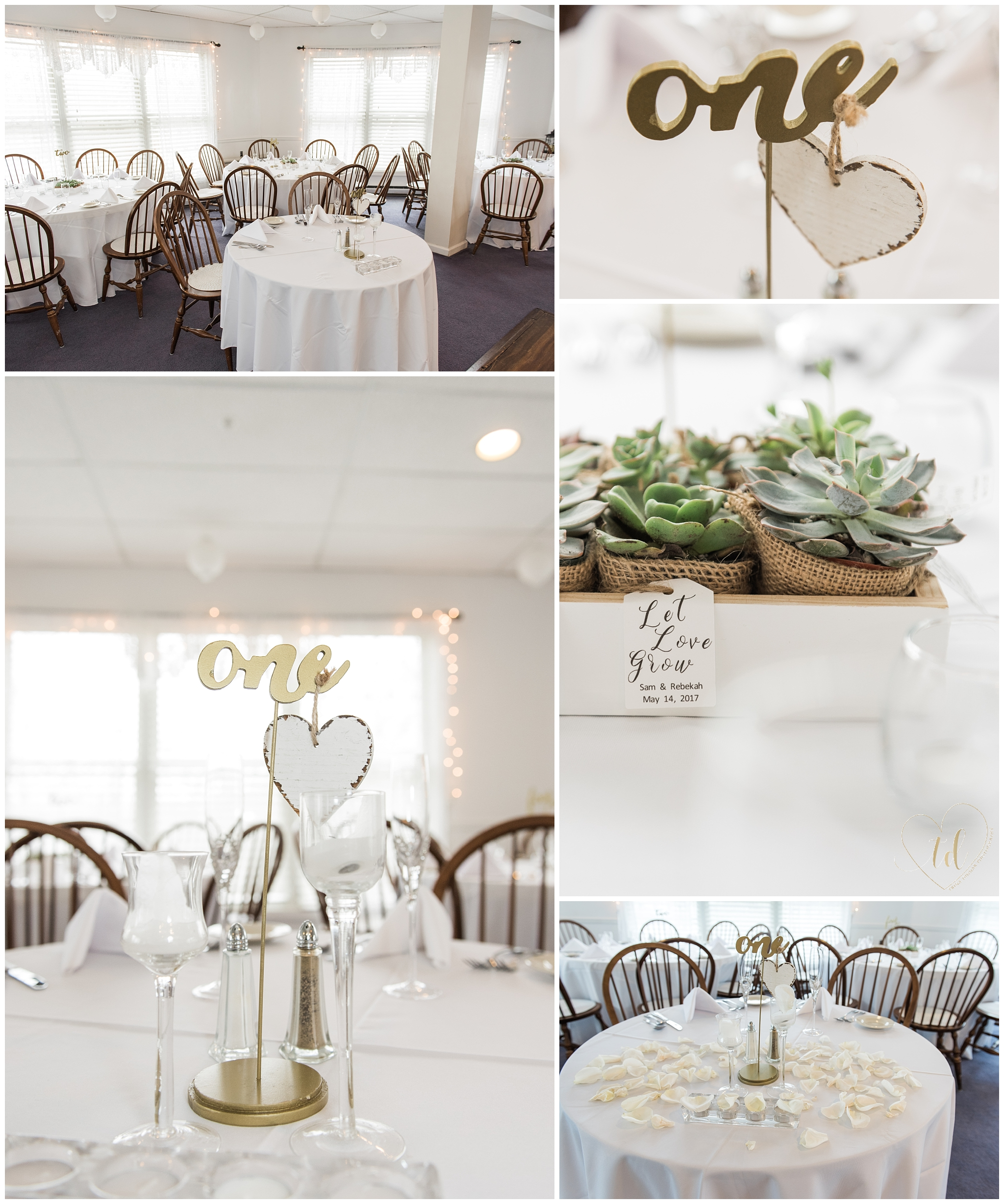 Southern Maine Wedding Favors and Decor