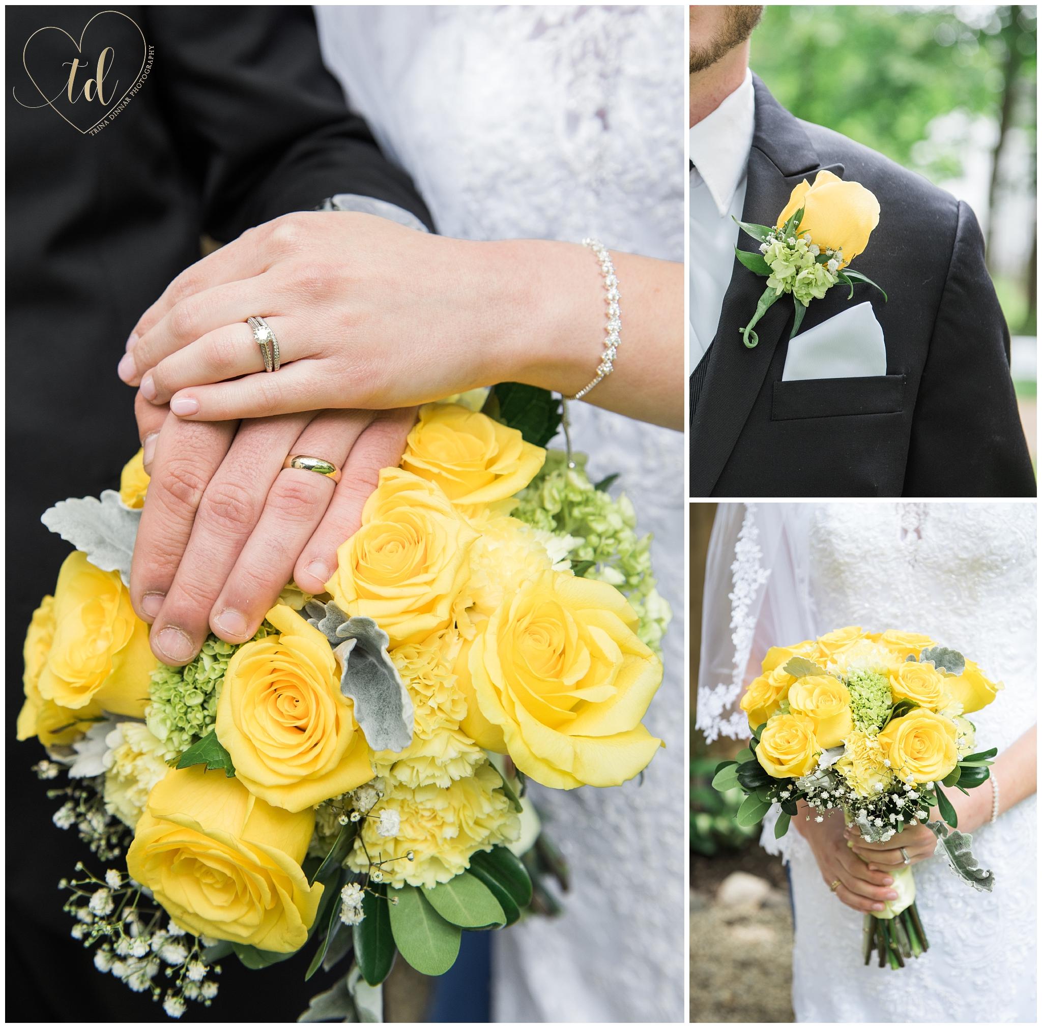 Wedding Flowers from Wildflower Florist in Freeport, Maine.