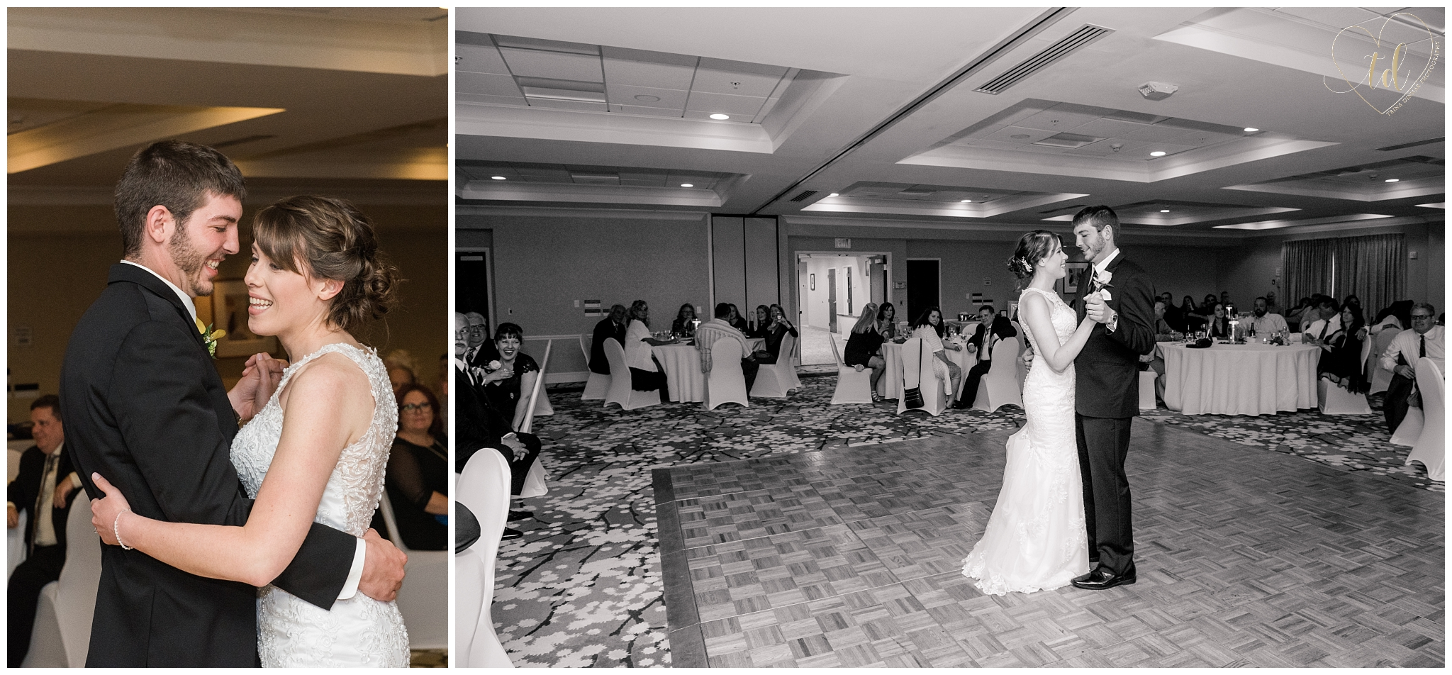 Maine Wedding at the Hilton Garden Inn in Freeport.