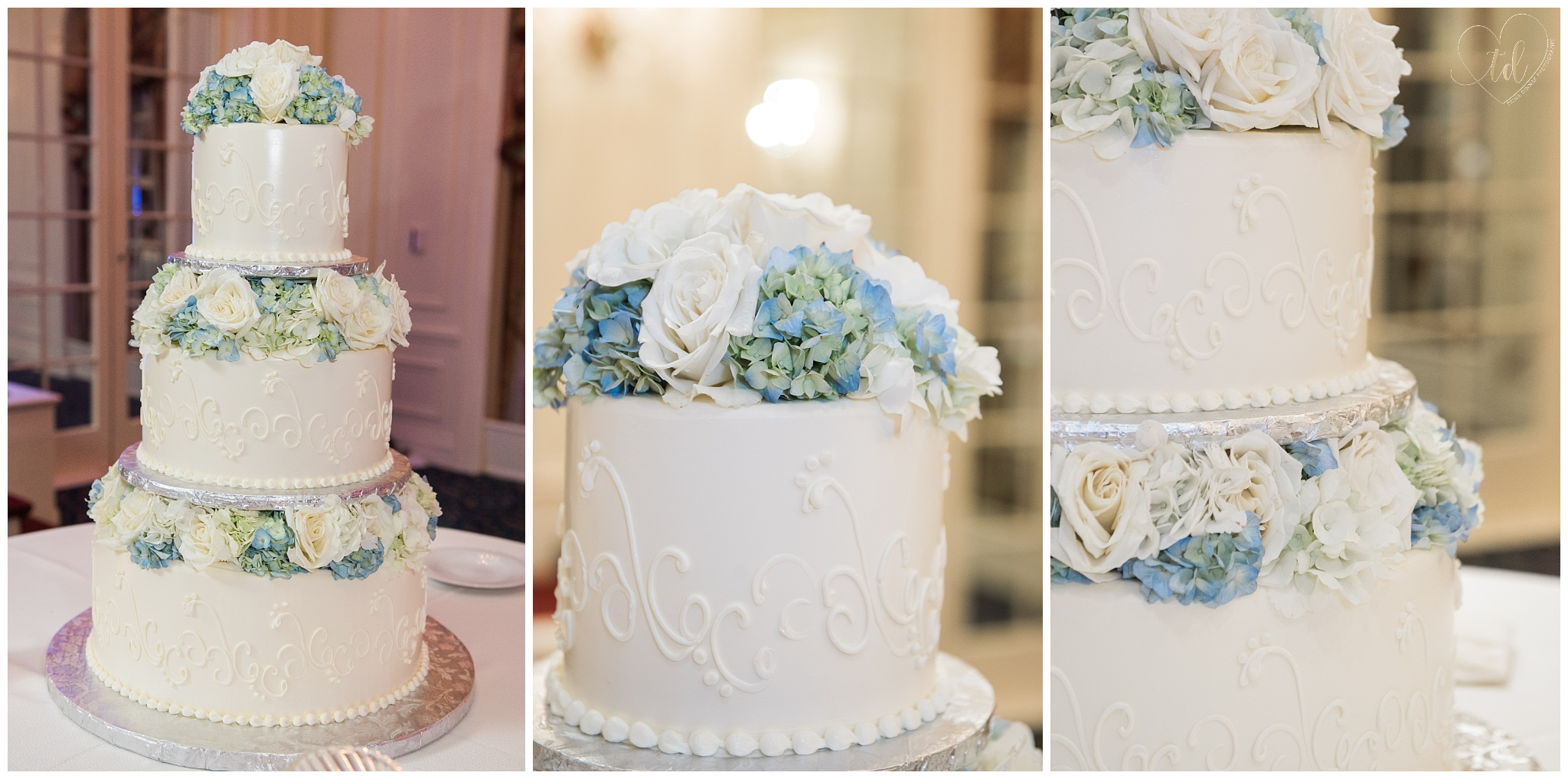 Jacques Pastries New Hampshire Wedding Cakes