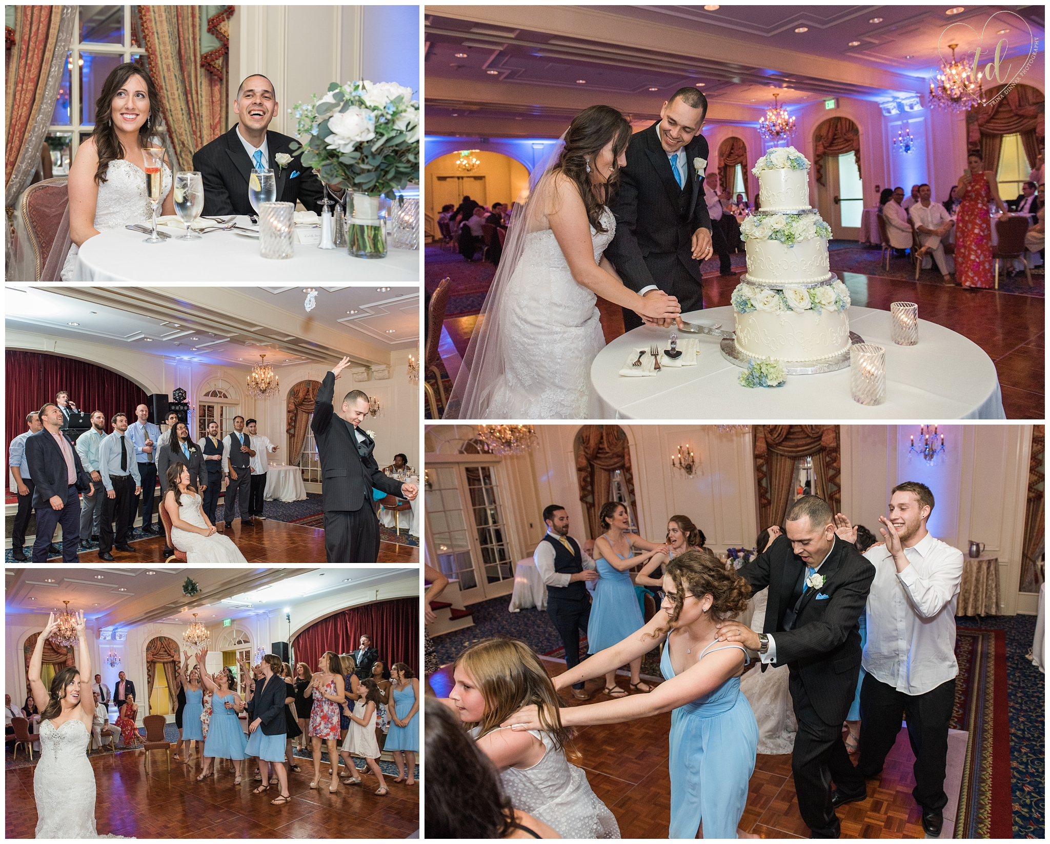 Wedding Reception at the Wentworth by the Sea in New Castle, New Hampshire