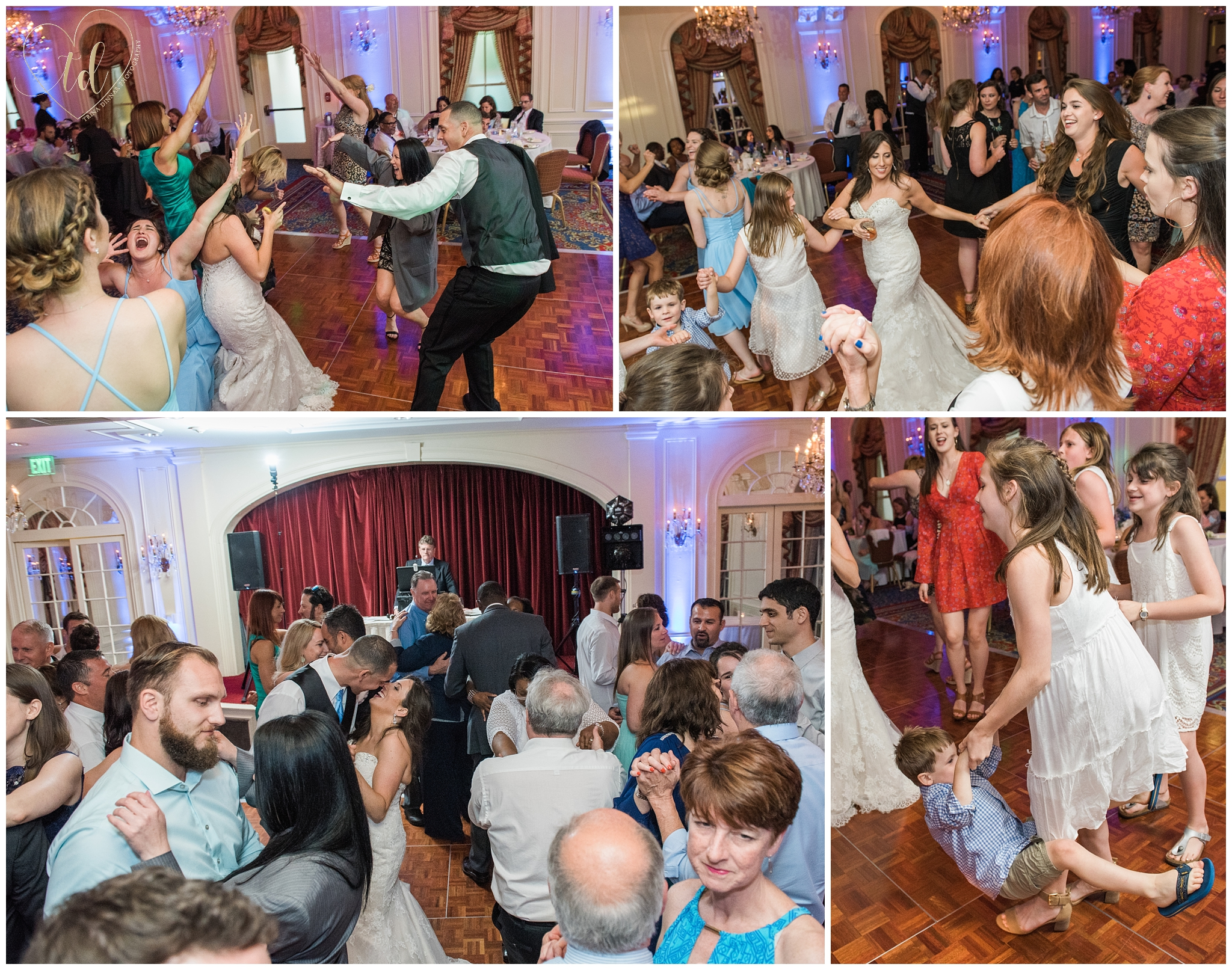Wedding Reception at the Wentworth Ballroom in New Castle, NH