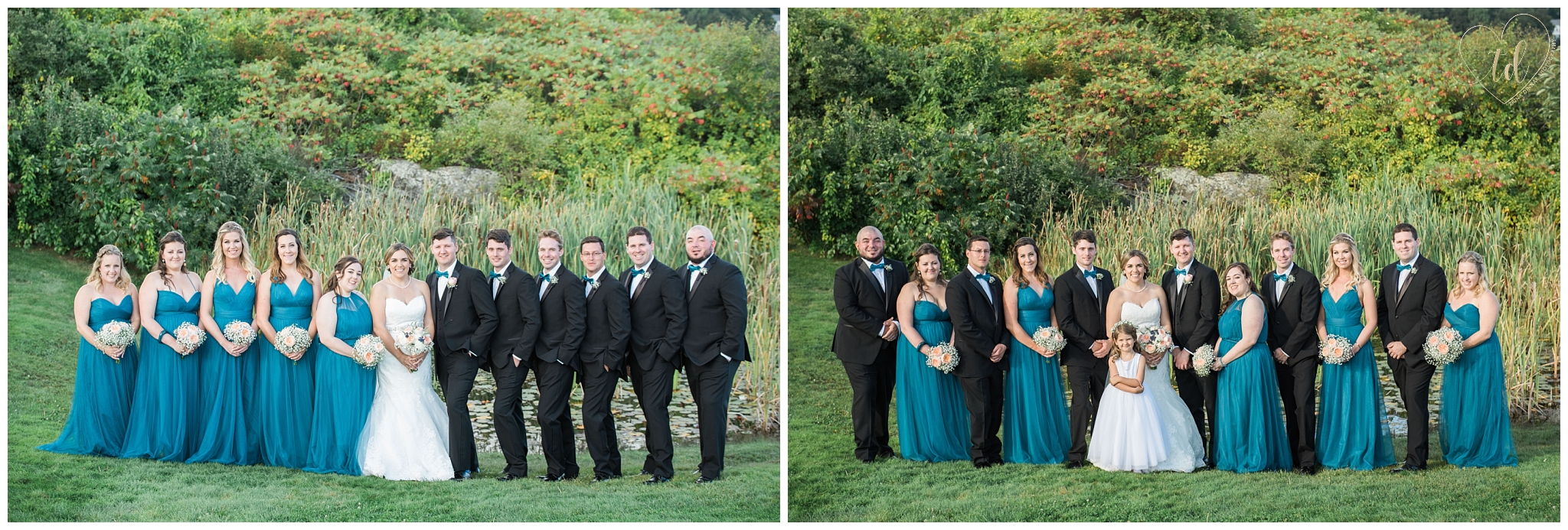 Wedding photography at Stage Neck Inn in York Maine