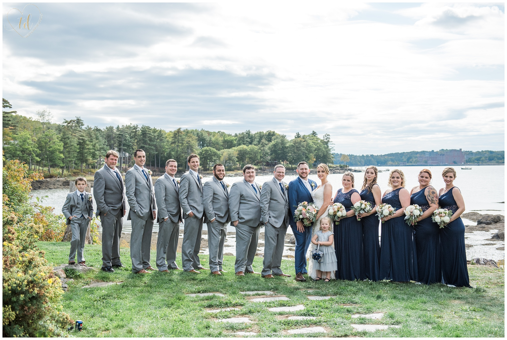 Midcoast Maine Wedding Portraits