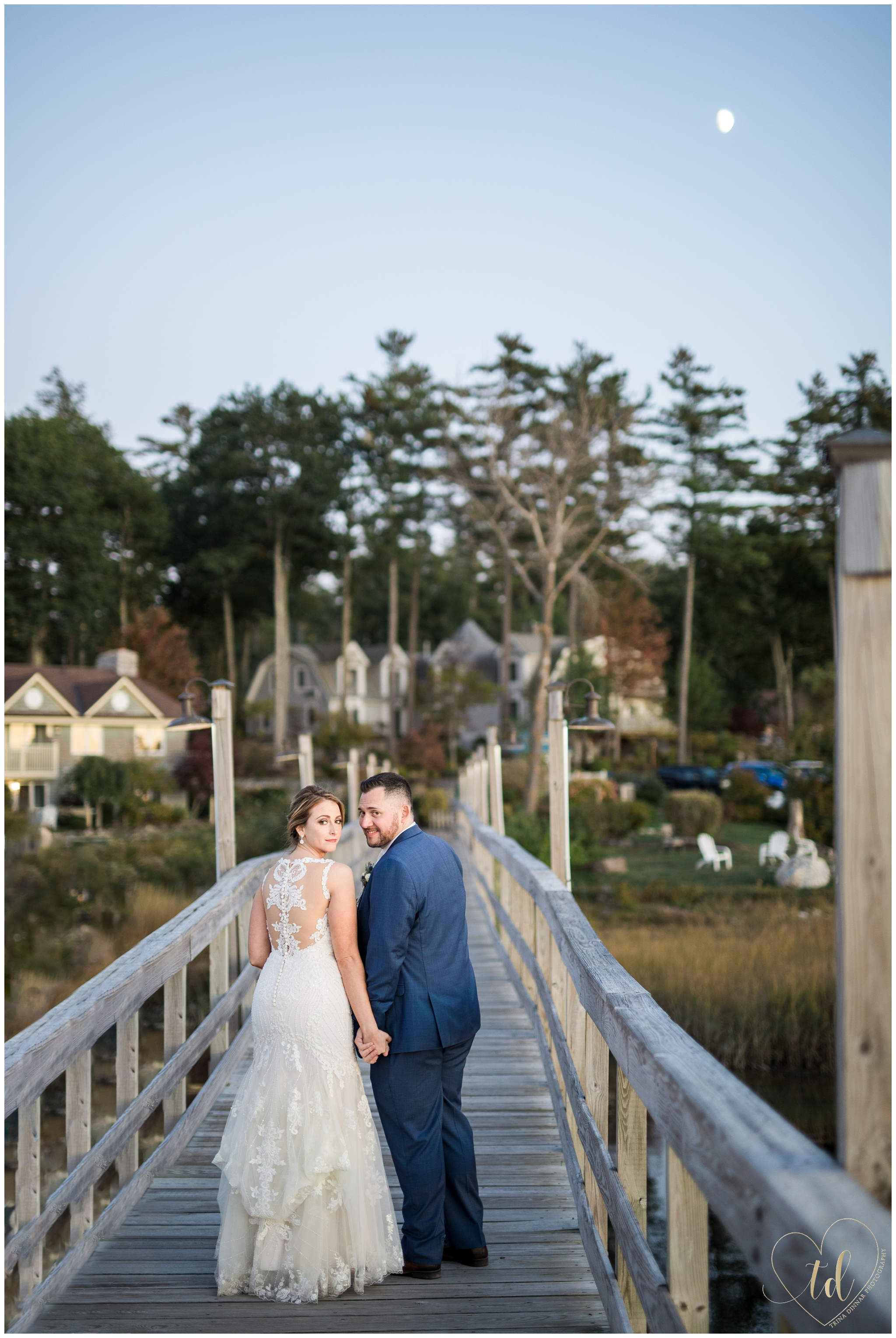 Coastal Midcoast Maine Wedding Photo