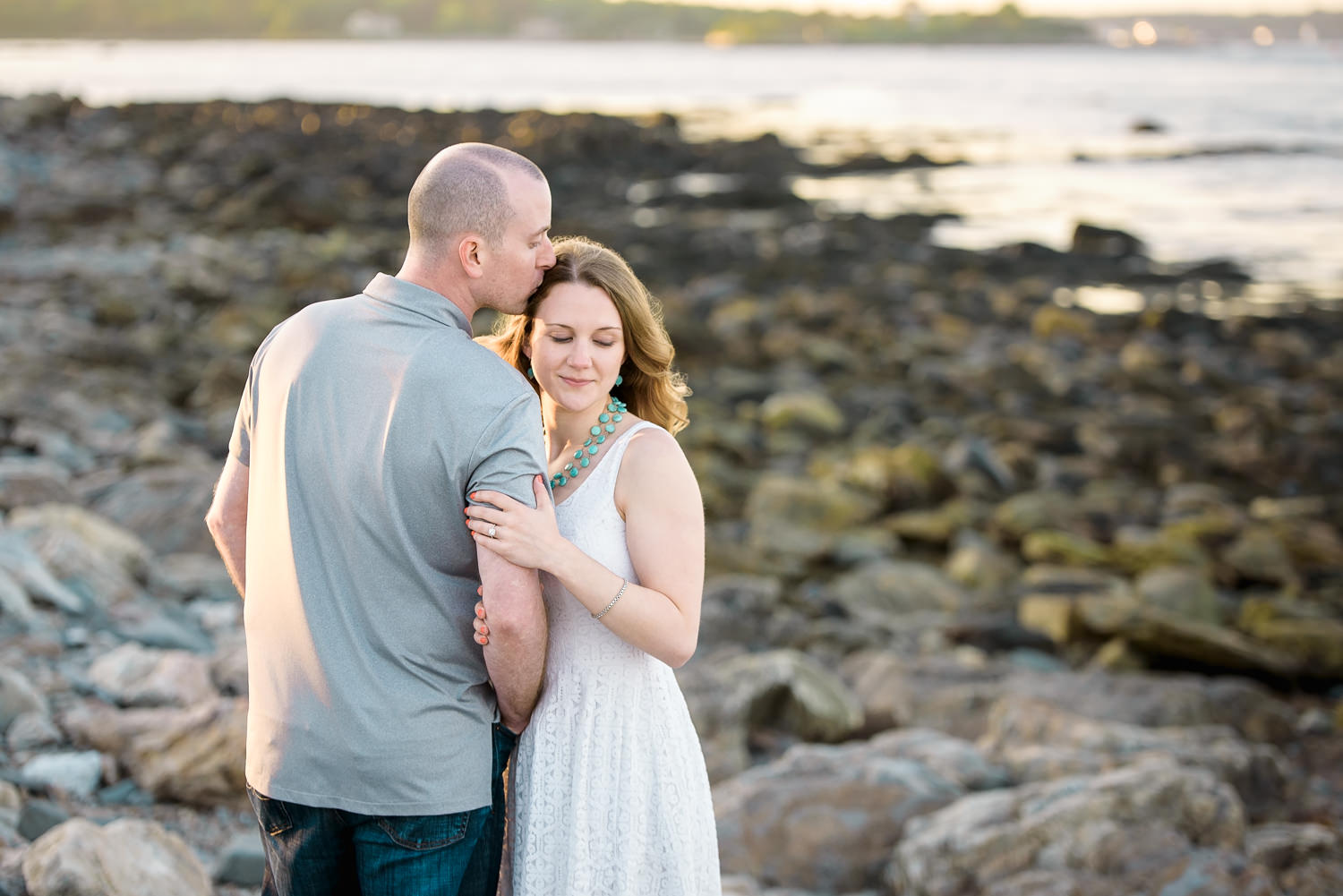 Southern Maine Engagement Photographer