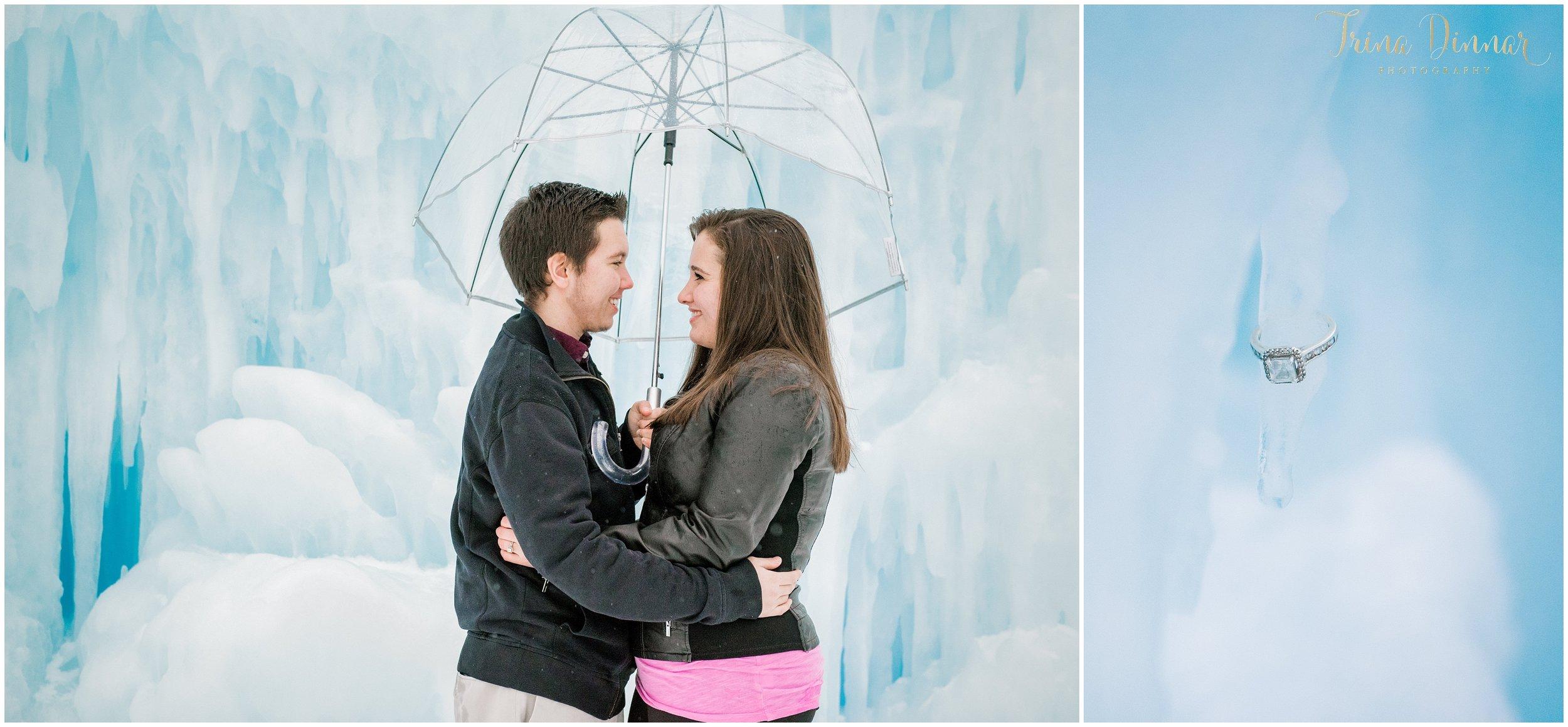 Ice Castles Engagement Photographer