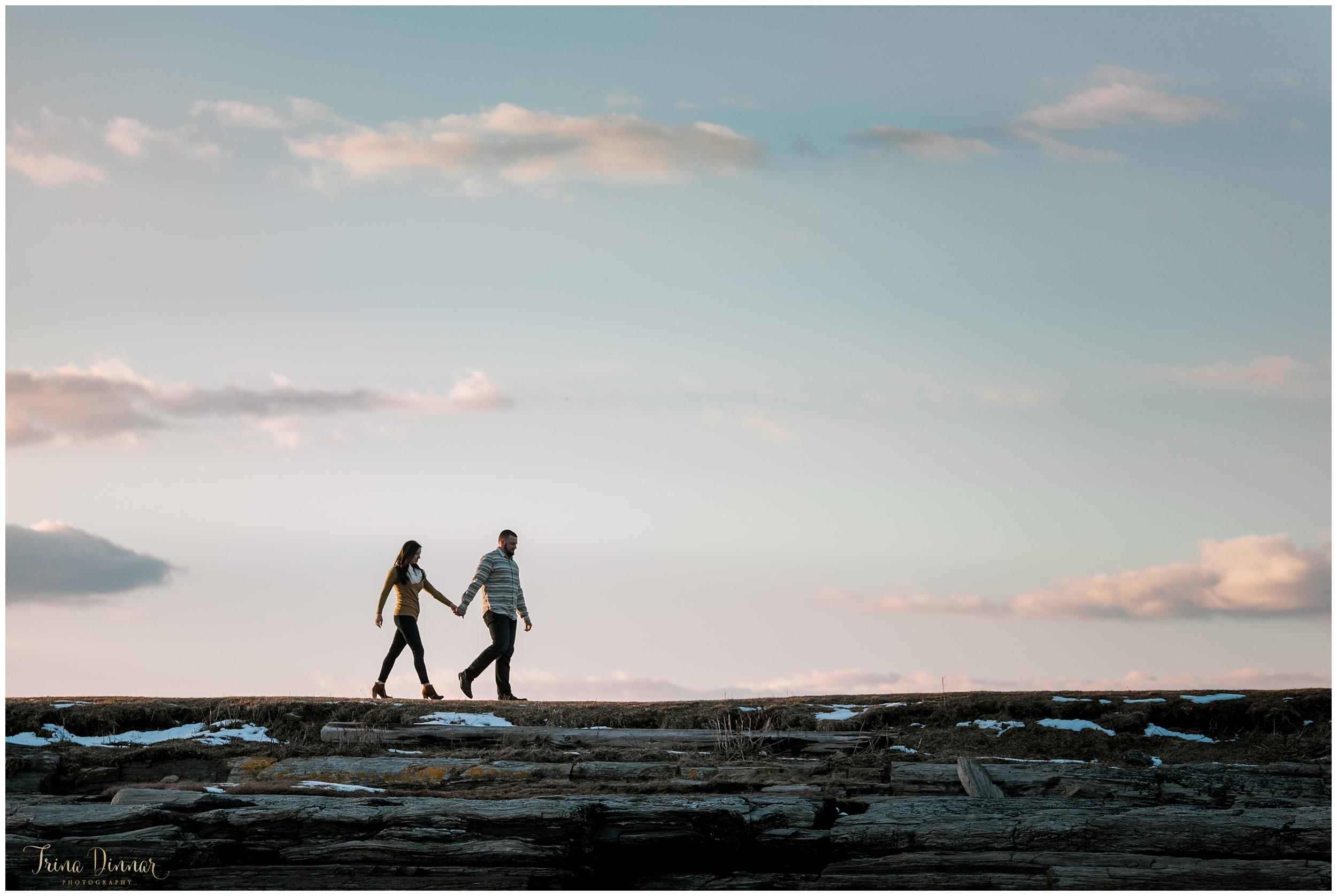 Engagement Photos Portland Maine