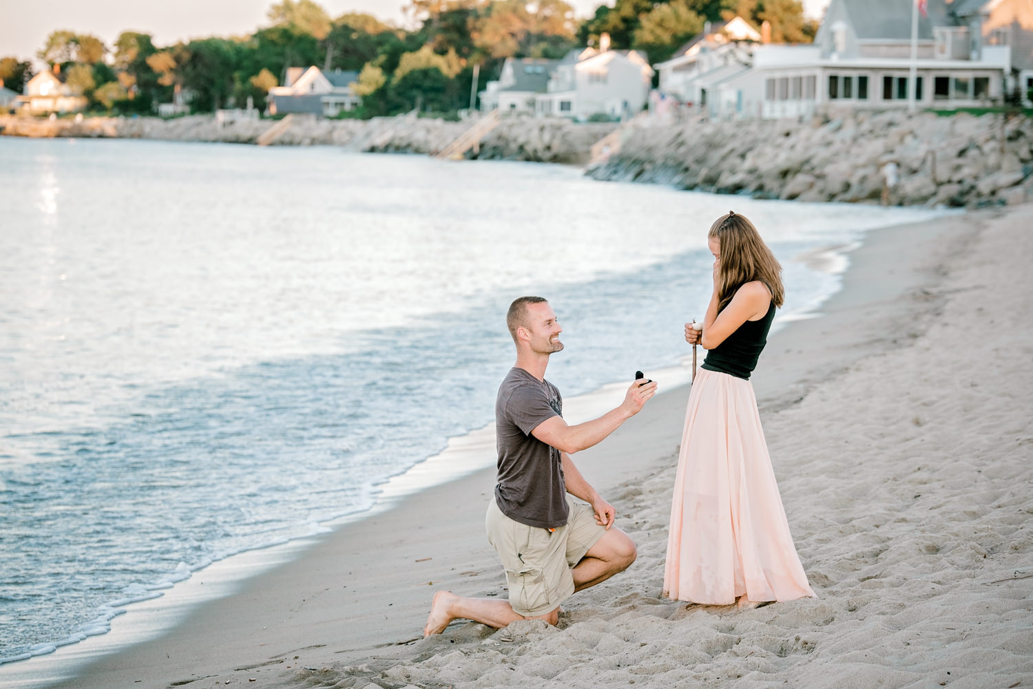 Maine Proposal Photography