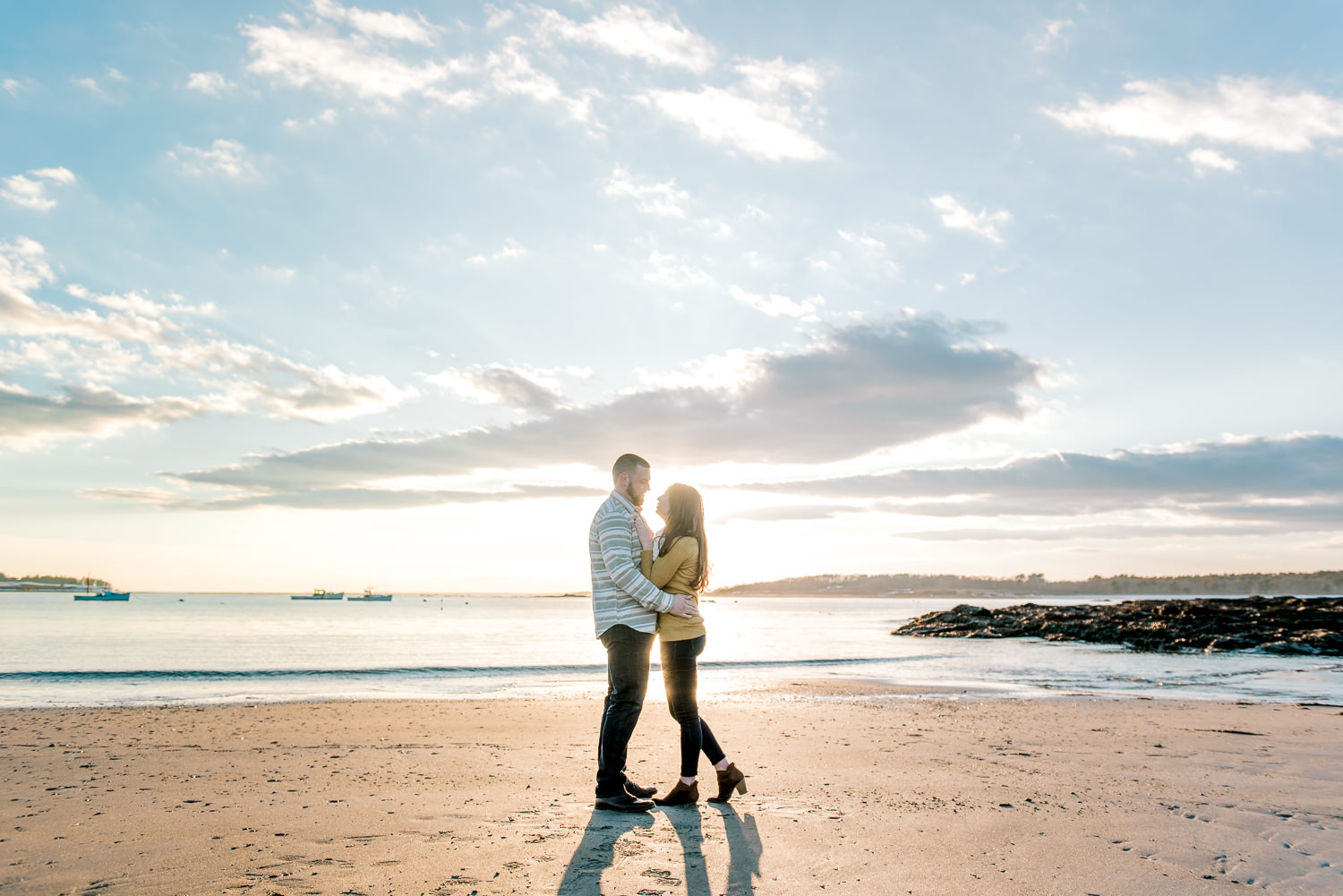 Portland Maine Engagement Photographers