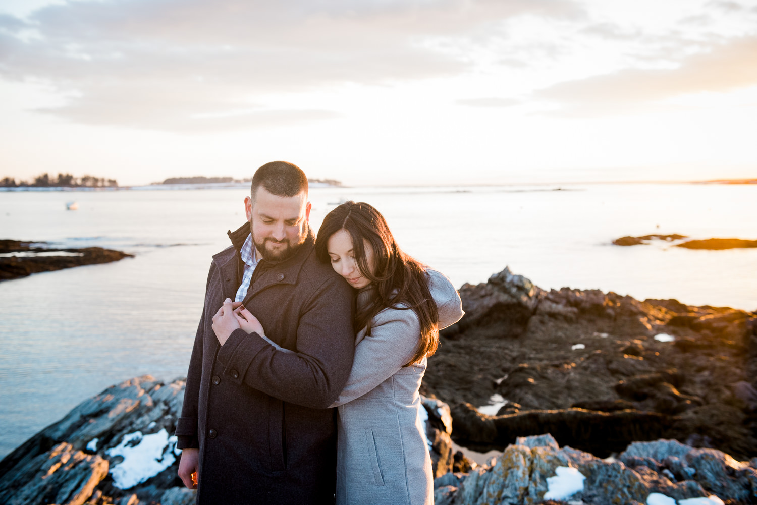 Engagement Portraits Southern Maine