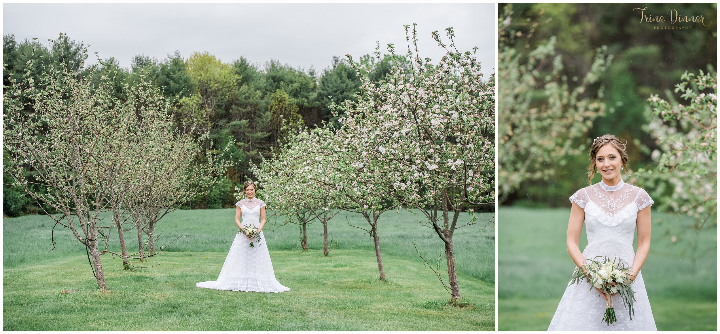 Bridal and Wedding Photographer in Buxton Maine